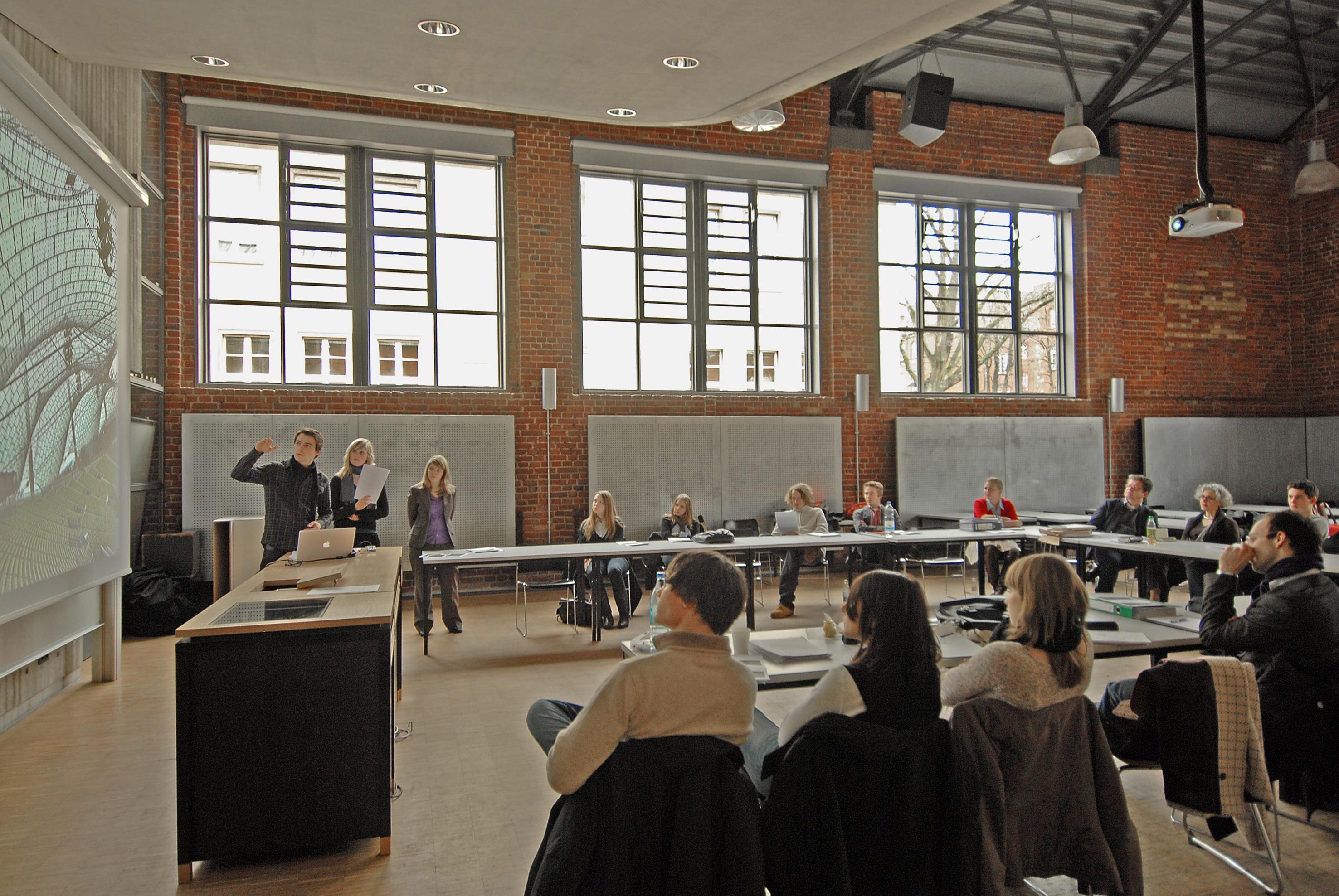 Münster Architekten faculty of civil engineering