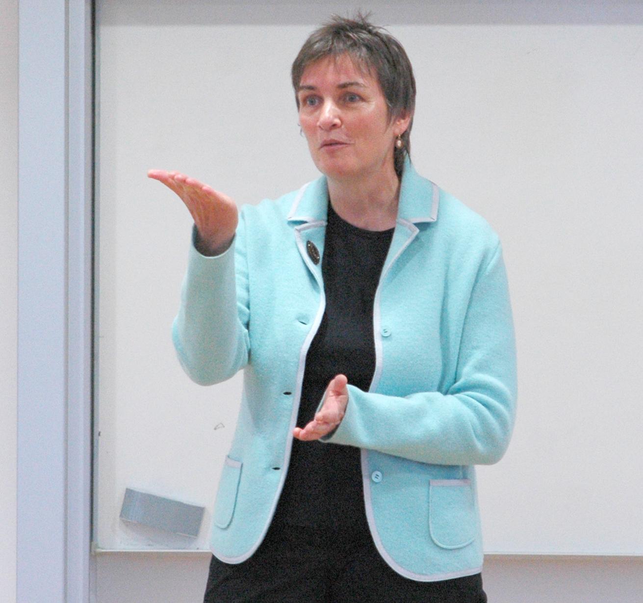 Studiengangsleiterin Prof. Dr. Friederike Störkel