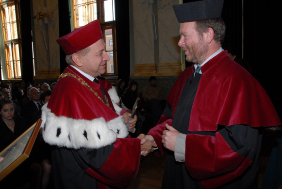 Prof. Dr. Jerzy Lis und Prof. Dr. Michael Bredol