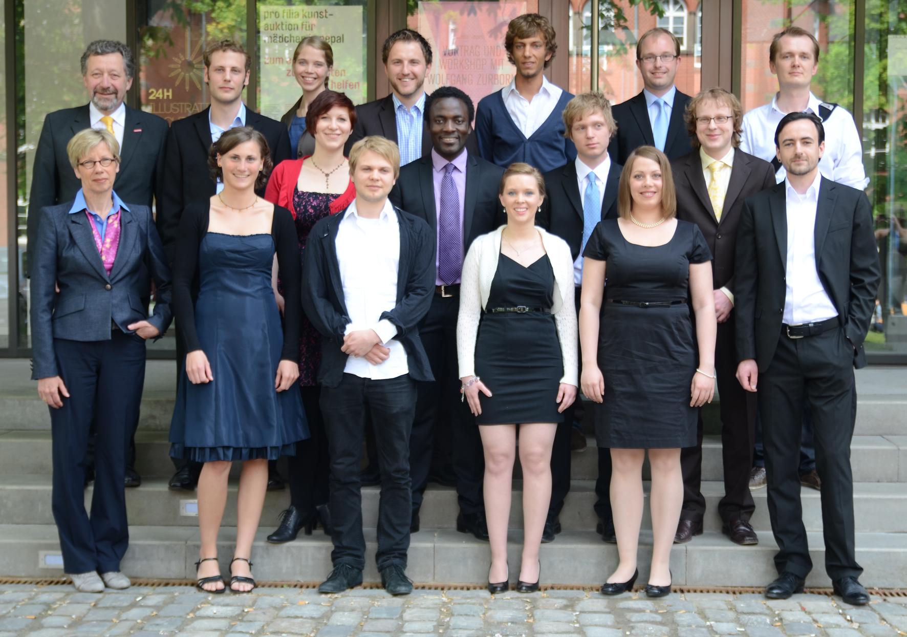 Gruppenbild aller Ausgezeichneten