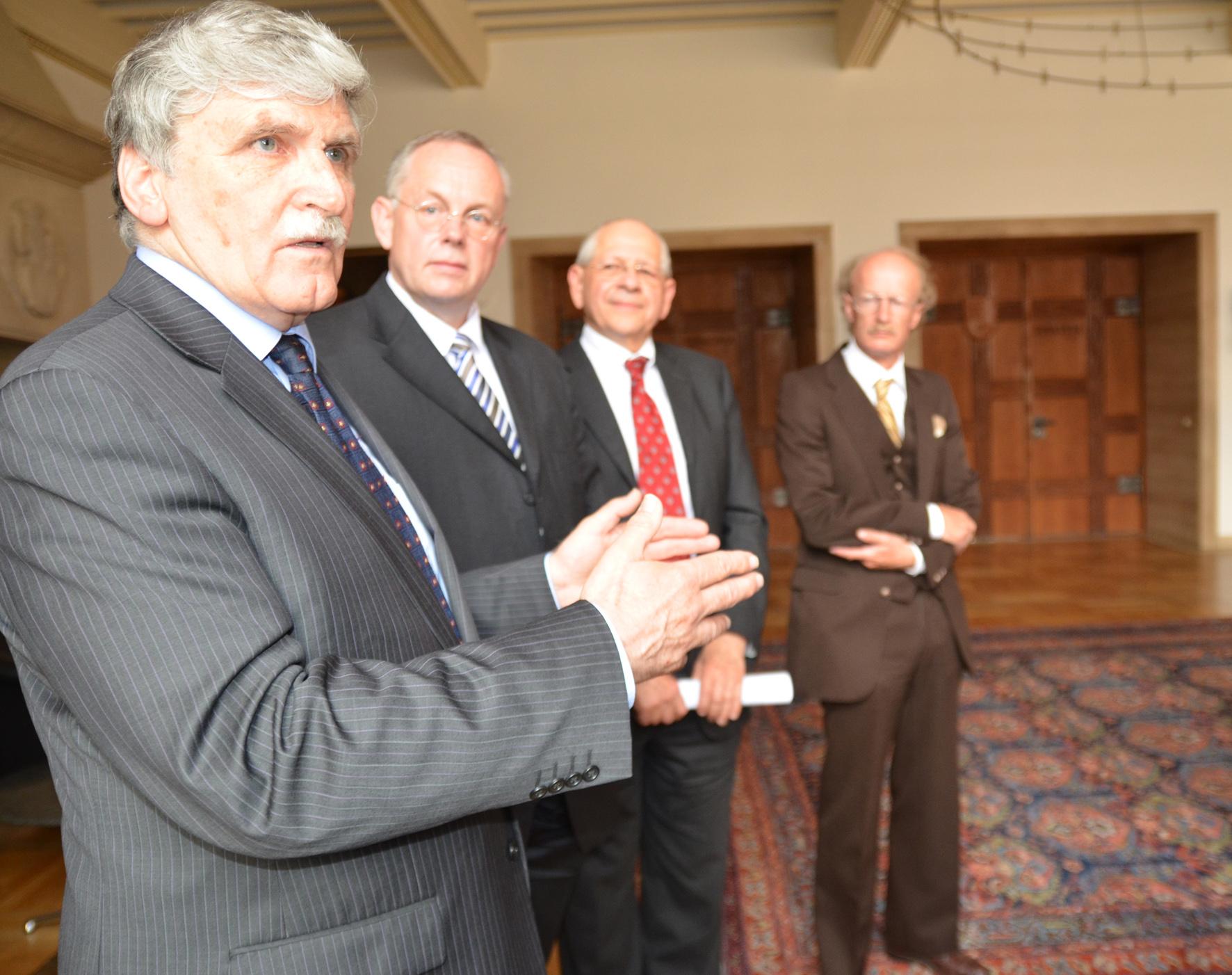 Dallaire, Gardemann, Chalk, van Baarda