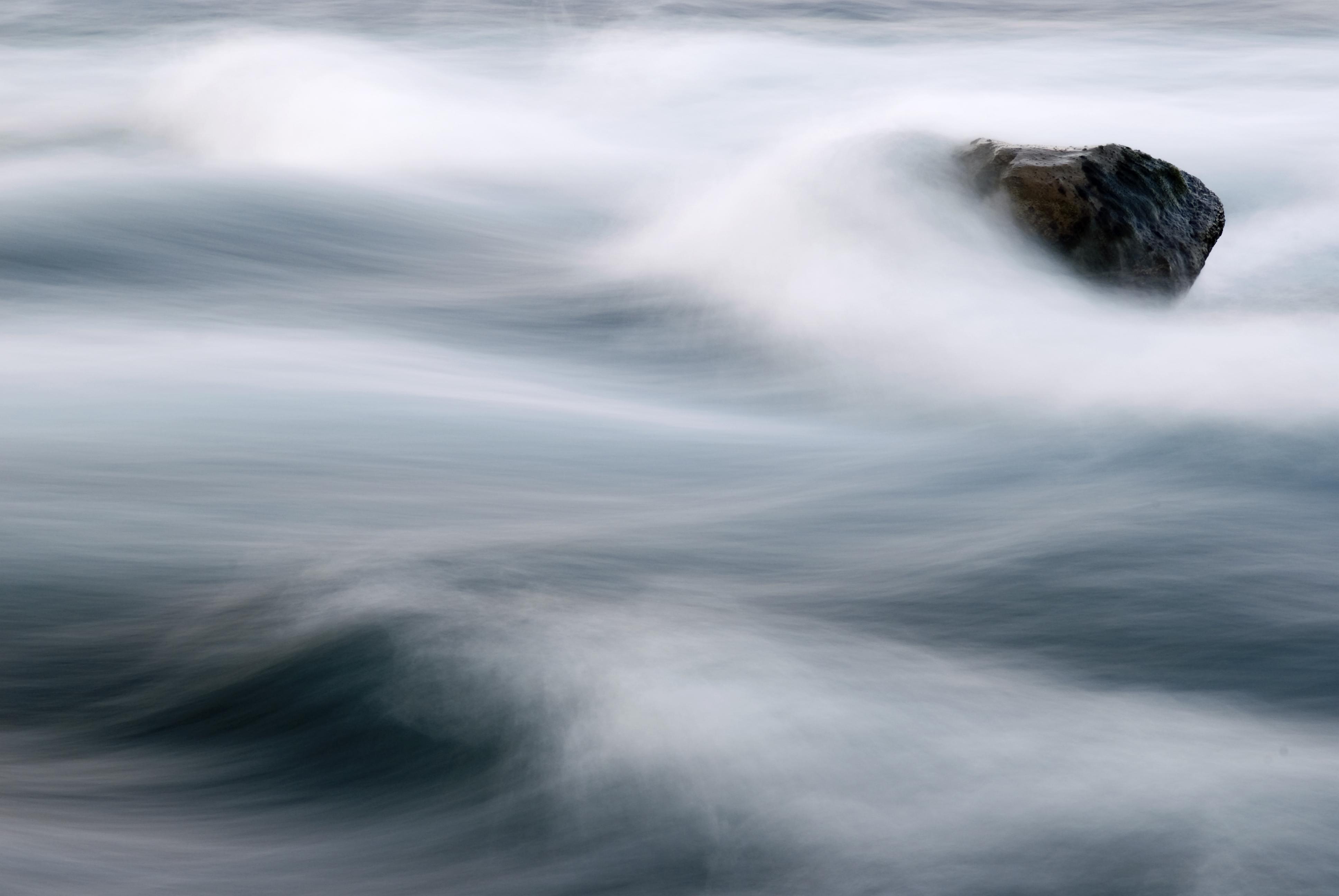 Nebel auf Wasser
