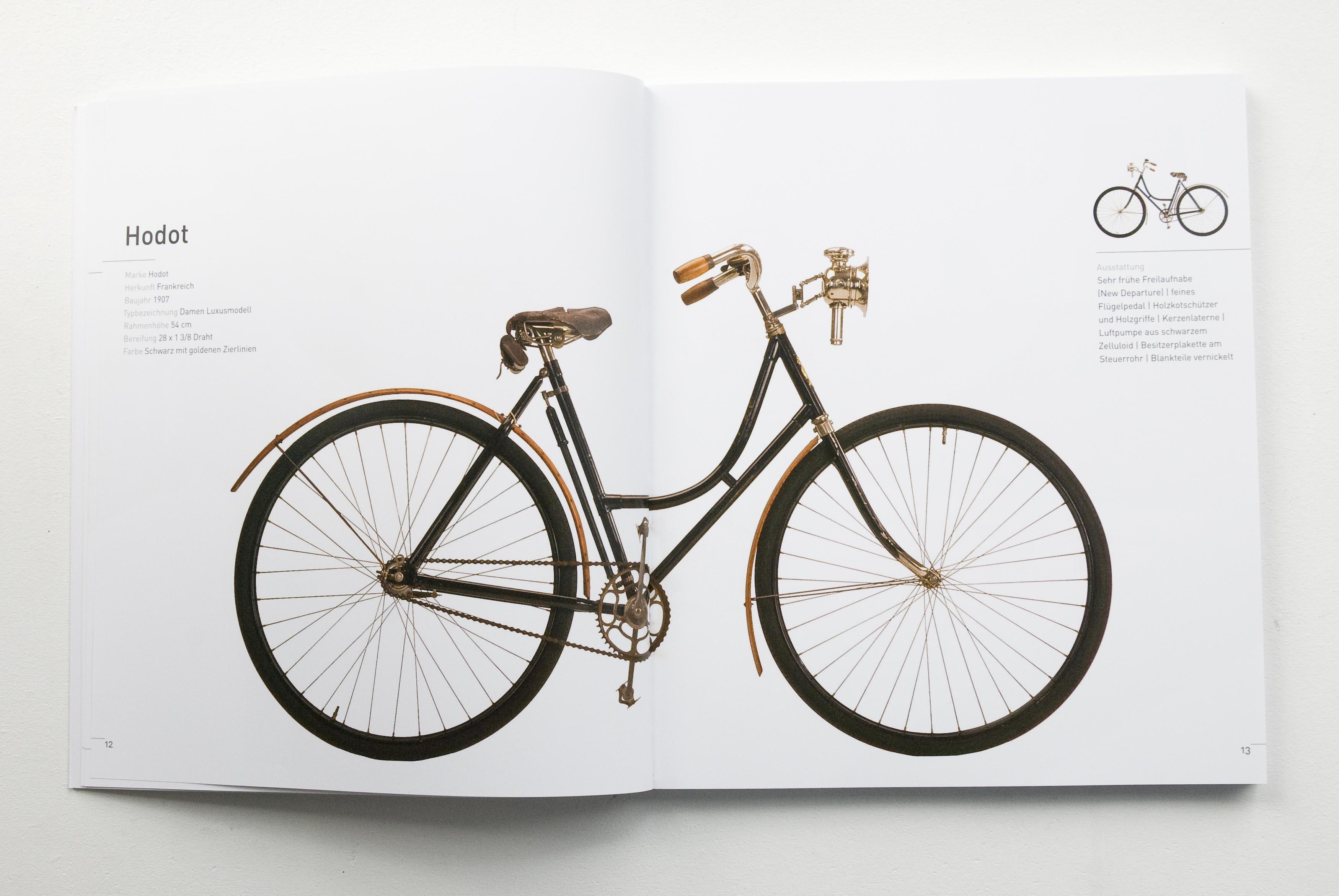 Damenrad der Marke Hodot