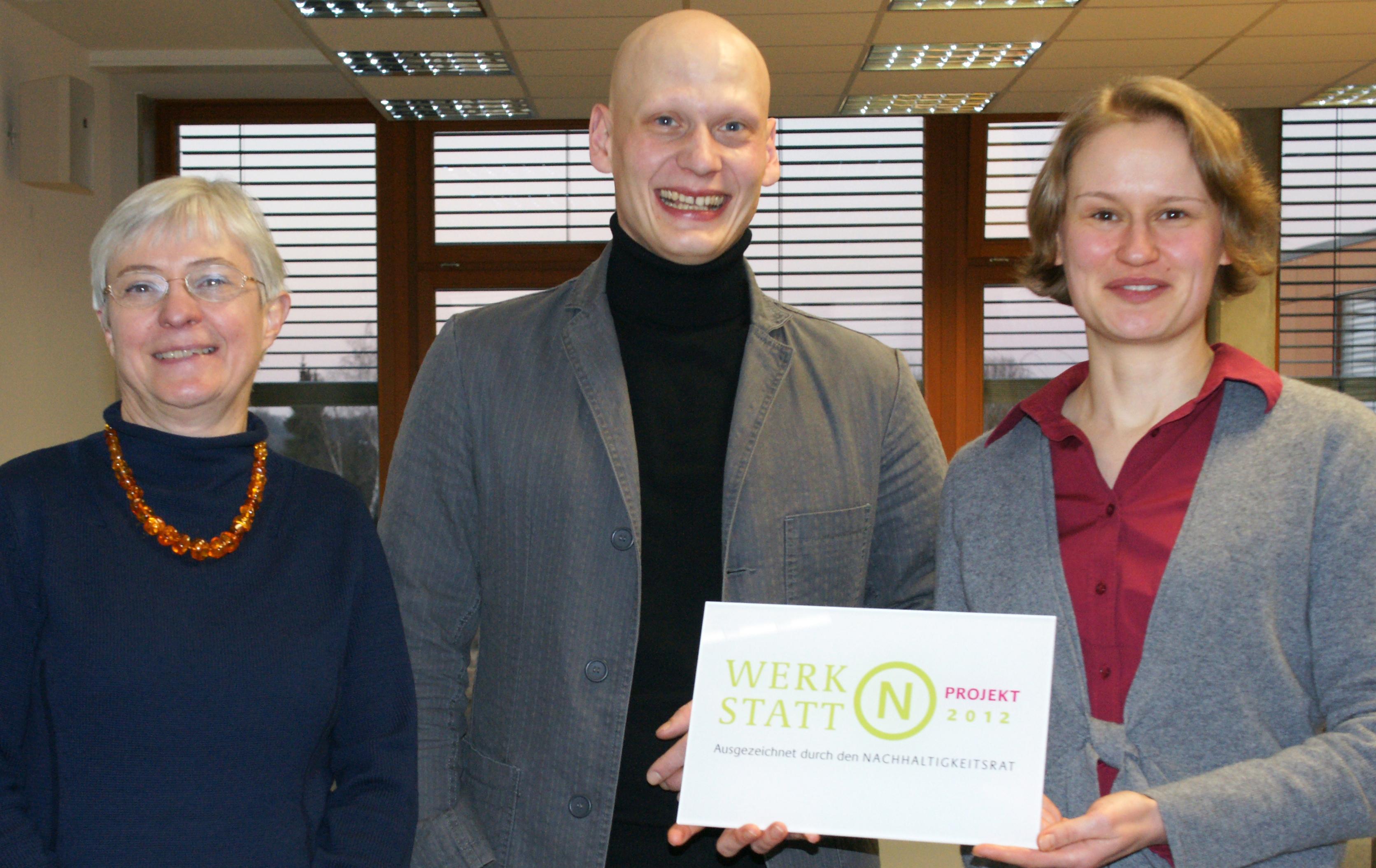 Prof. Dr. Irmhild Kettschau, Philipp Brinkmann, Nancy Mattausch