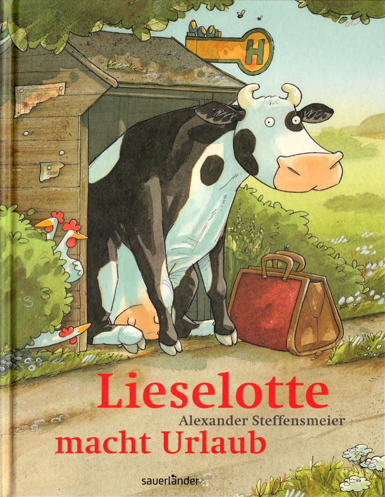 Die Kuh Lieselotte und andere Kinderbuchhelden sind im Krameramtshaus zu sehen. (Foto: Sauerländer)