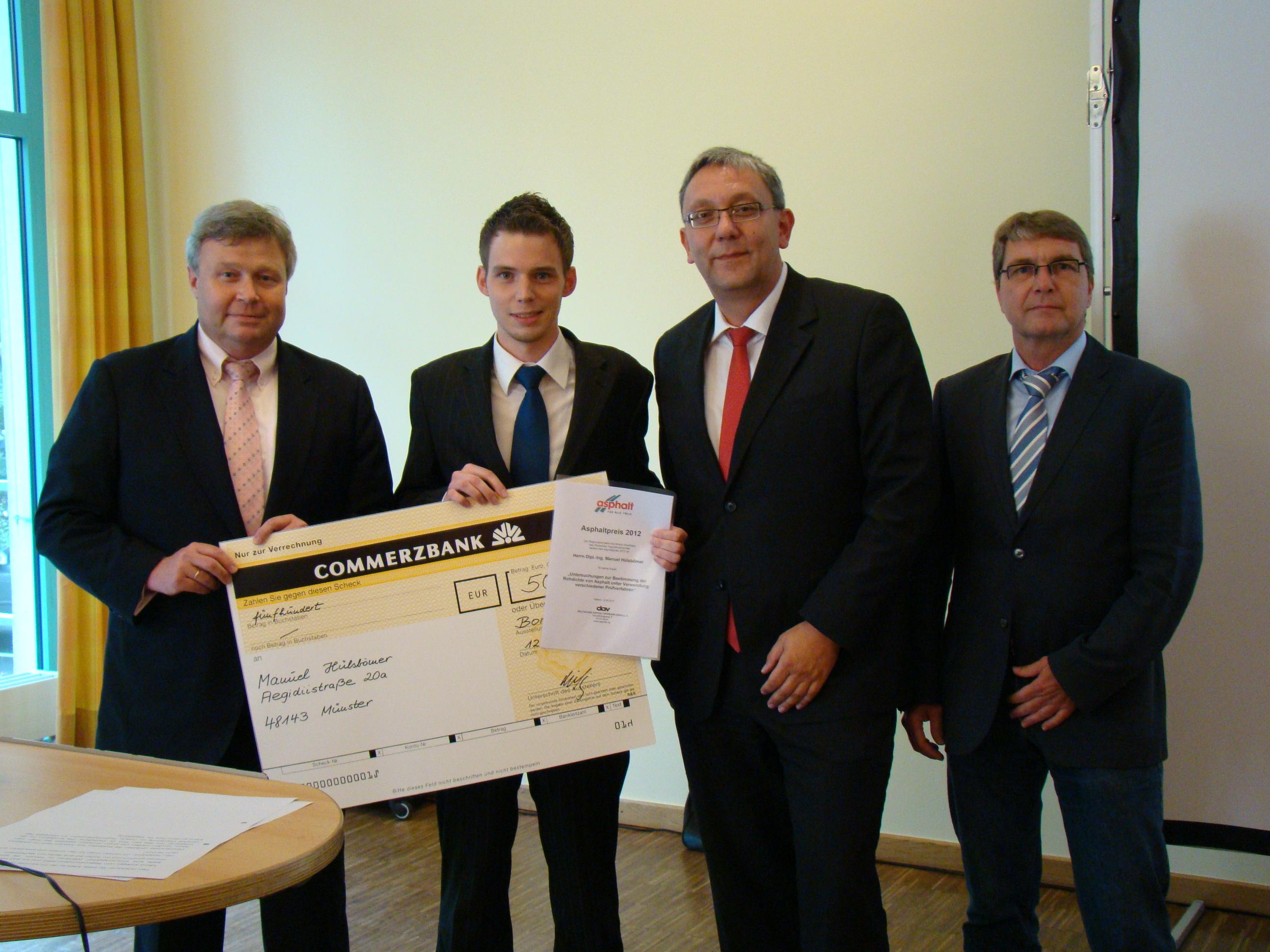 Verleihung Asphaltpreis