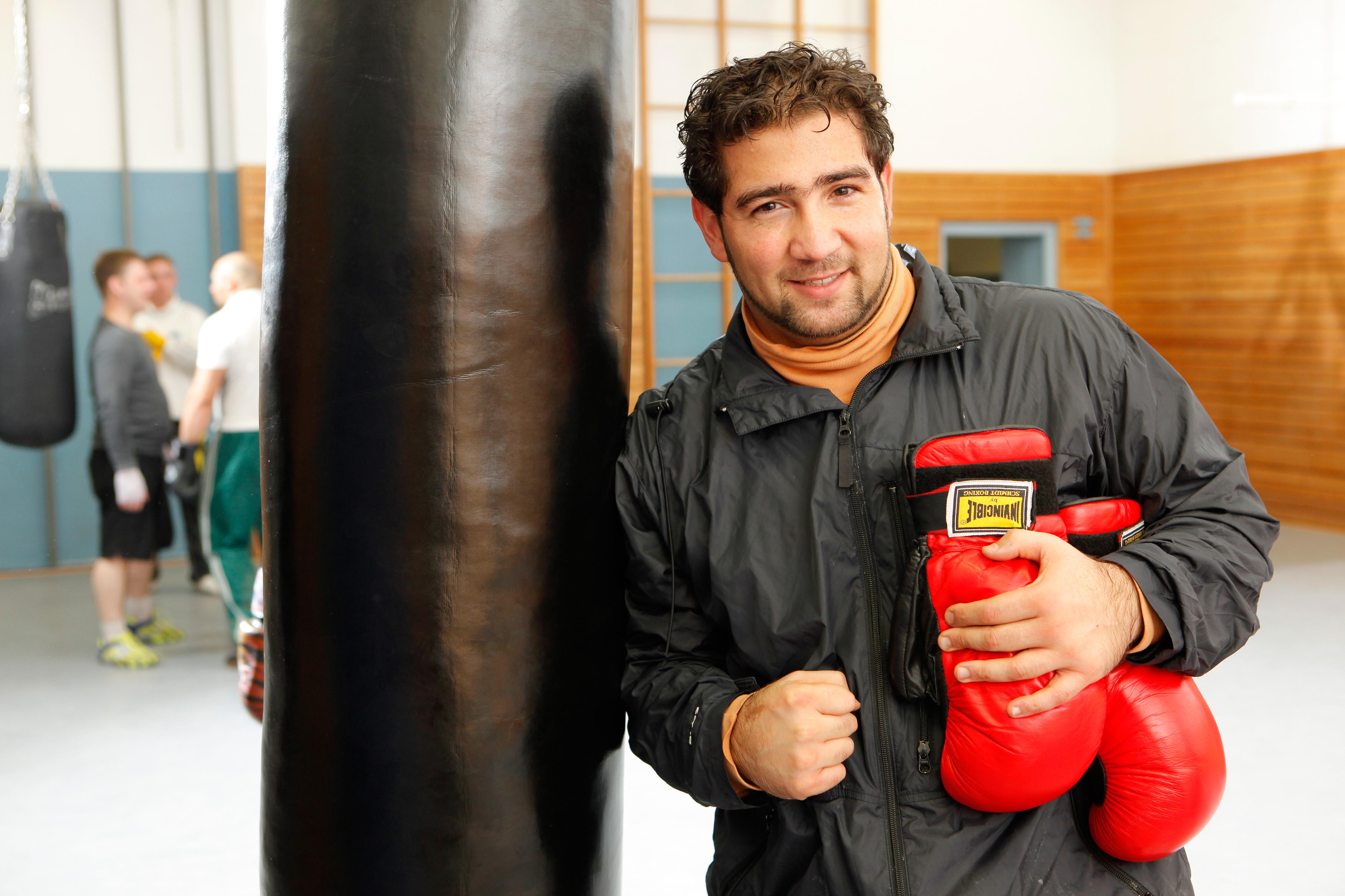 Dr. Farid Vatanparast, Absolvent der Fachhochschule Münster, hat den Deutschen Bürgerpreis 2012 gewonnen. Foto: Udo Geisler.
