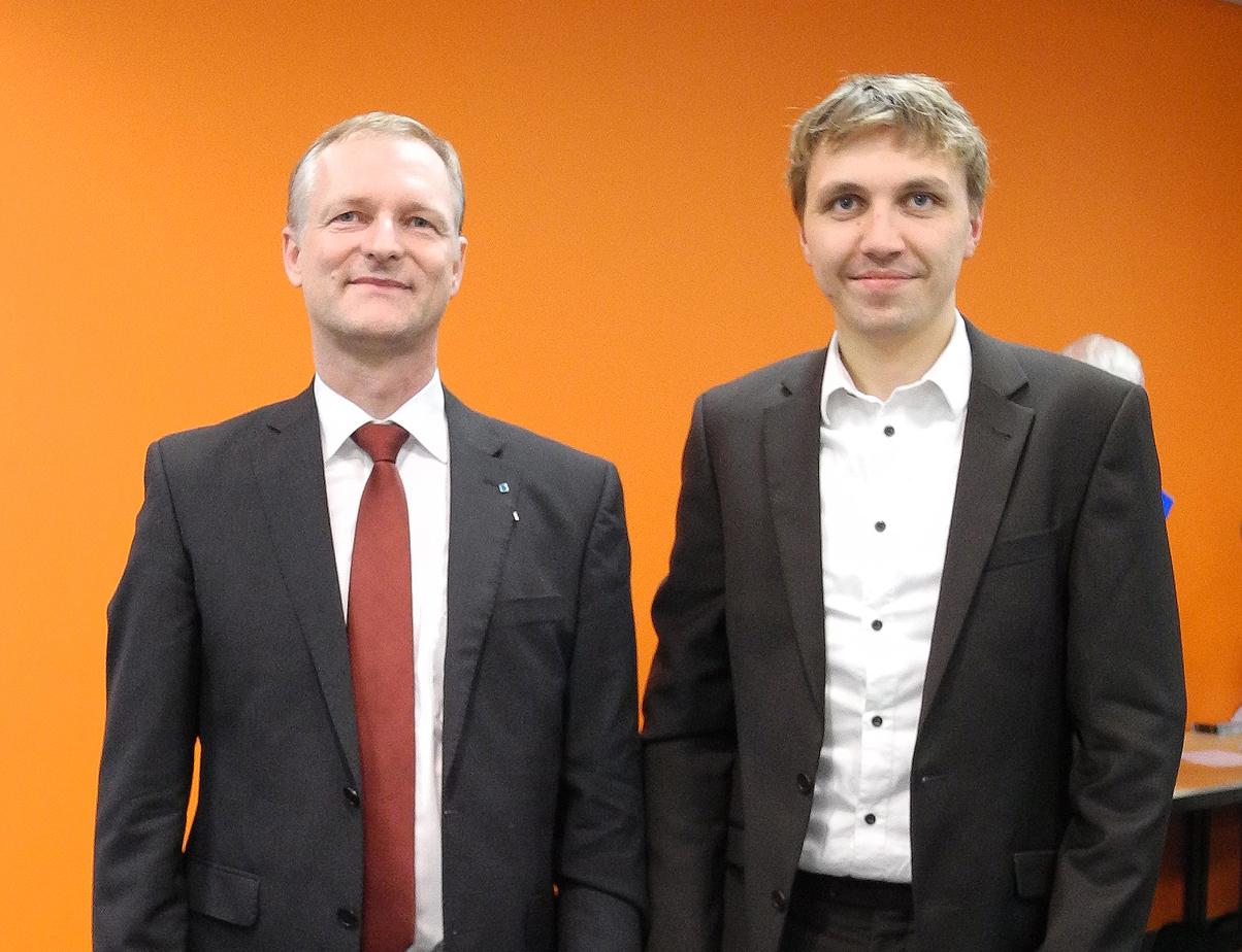 Martin Lenting und Michael Kein