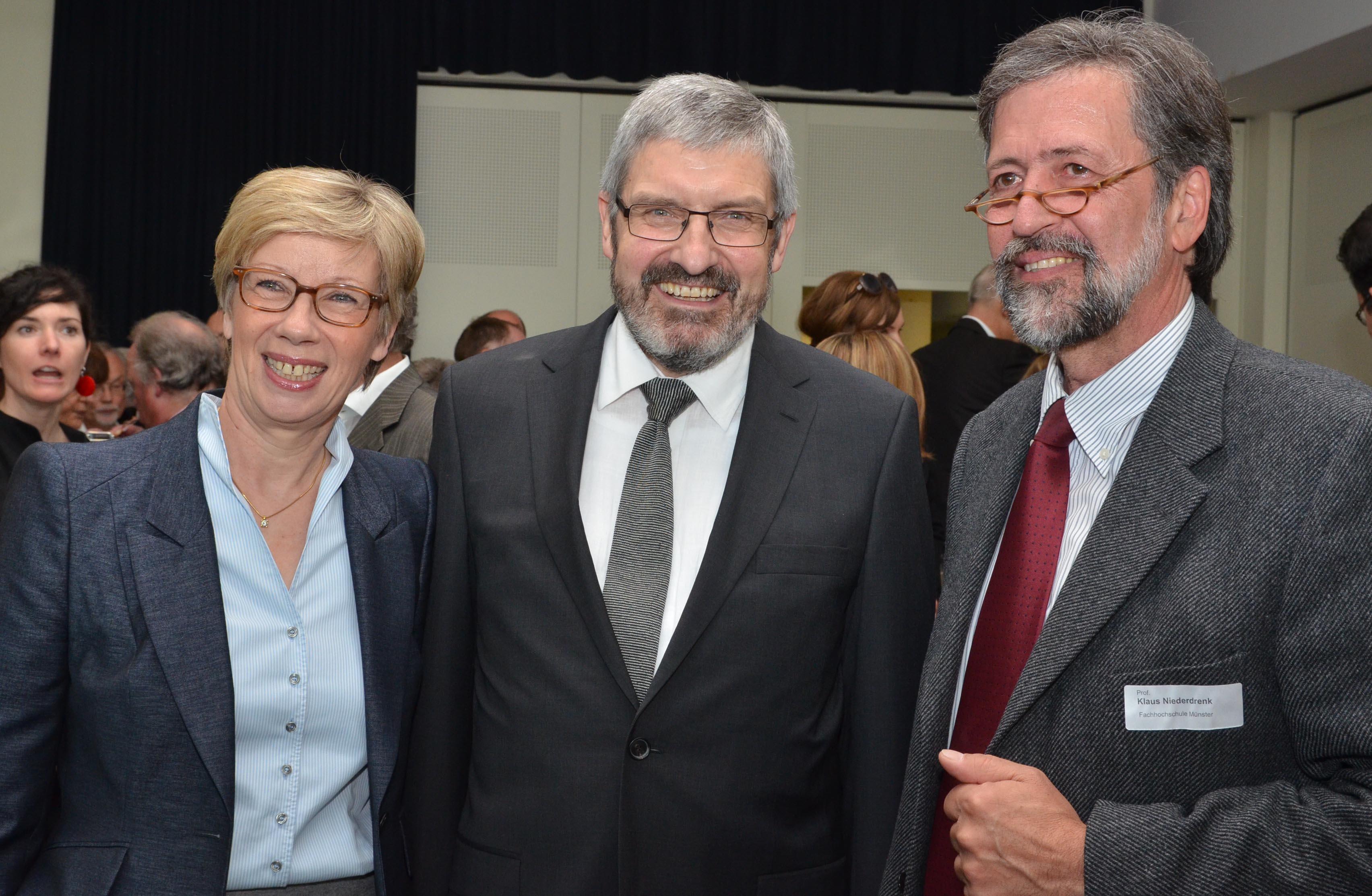 Prof. Dr. Ute von Lojewski Dr. Werner Jubelius und Prof. Dr. Klaus Niederdrenk