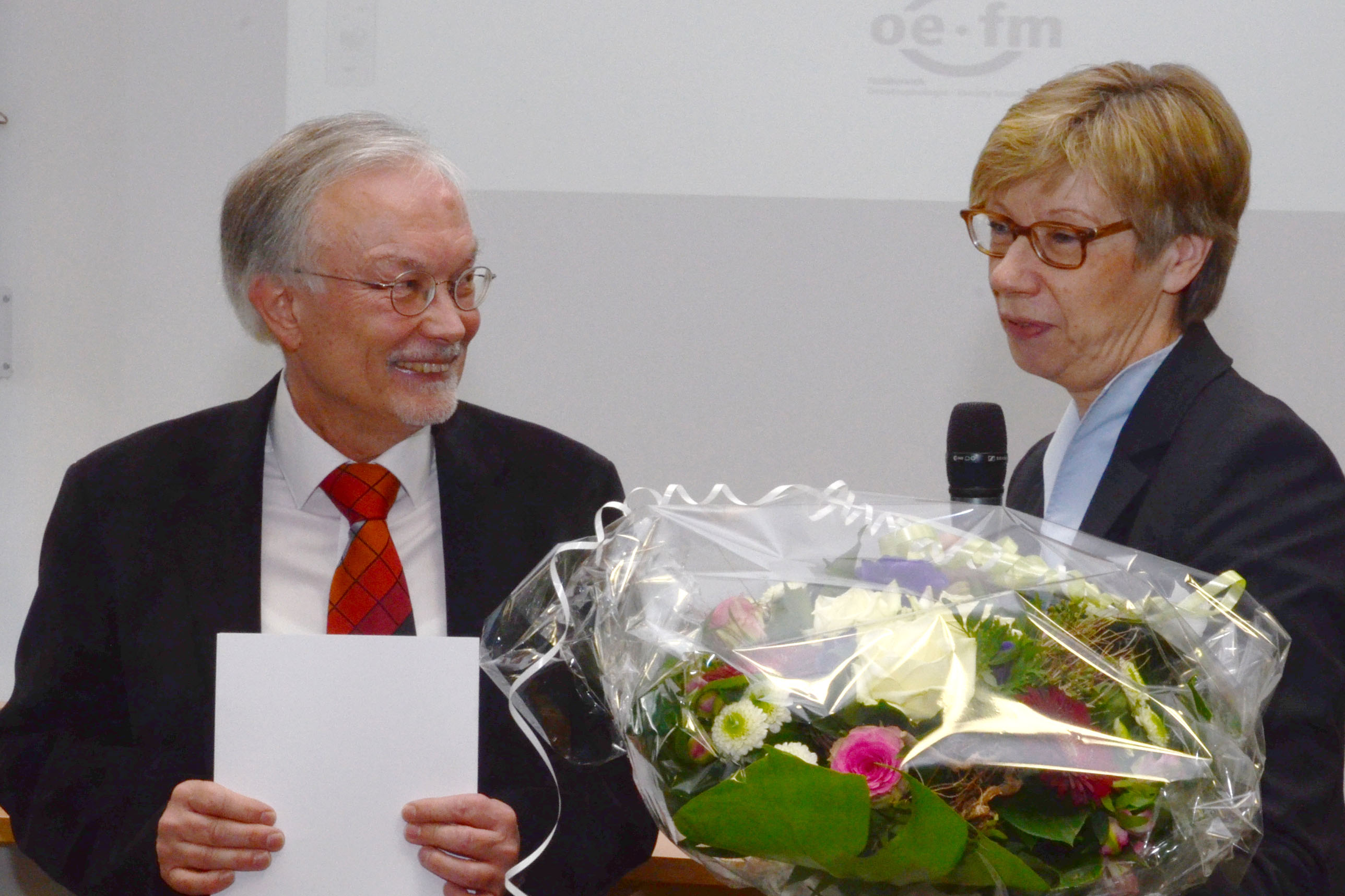 Prof. Dr. Ute von Lojewski und Prof. Dr. Jan Jarre