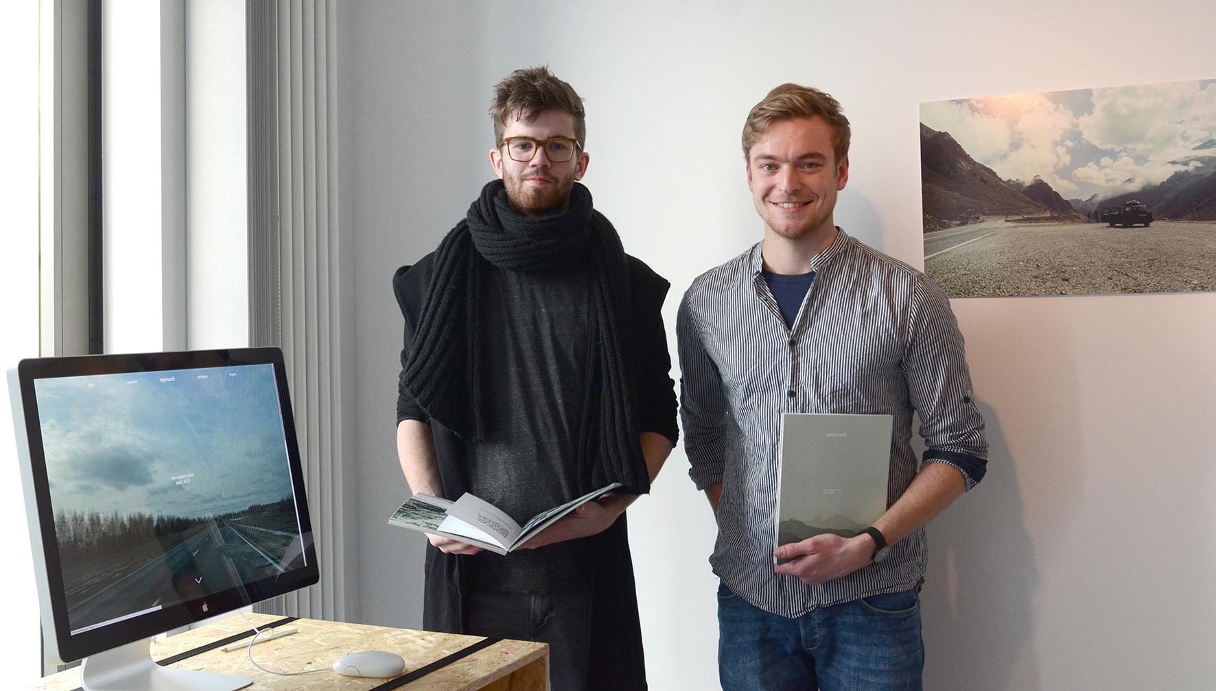 David Büscher (l.) und Michael Rautenberg