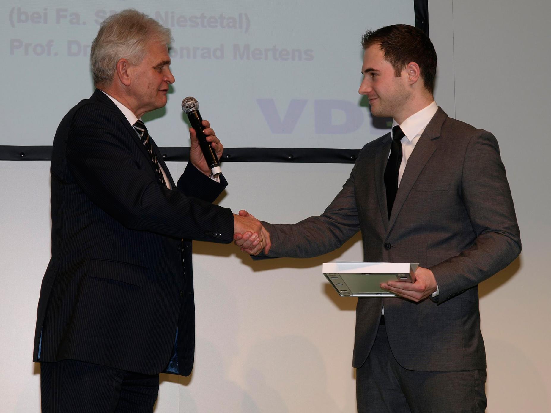 VDE-Preis Jens Wermers