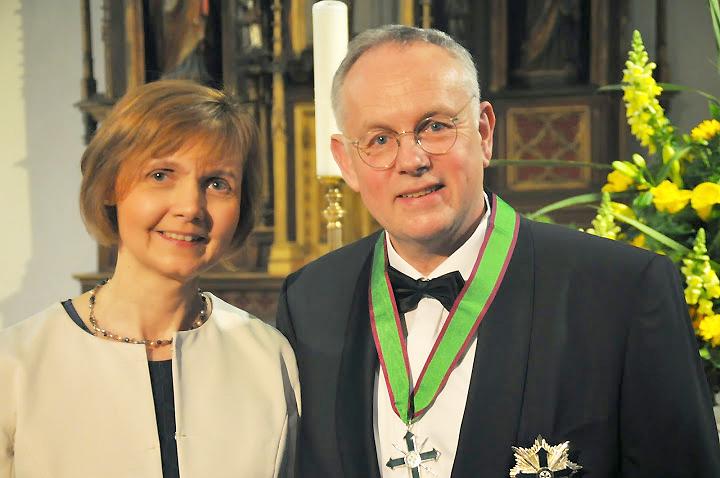 Prof. Gardemann mit Ehefrau