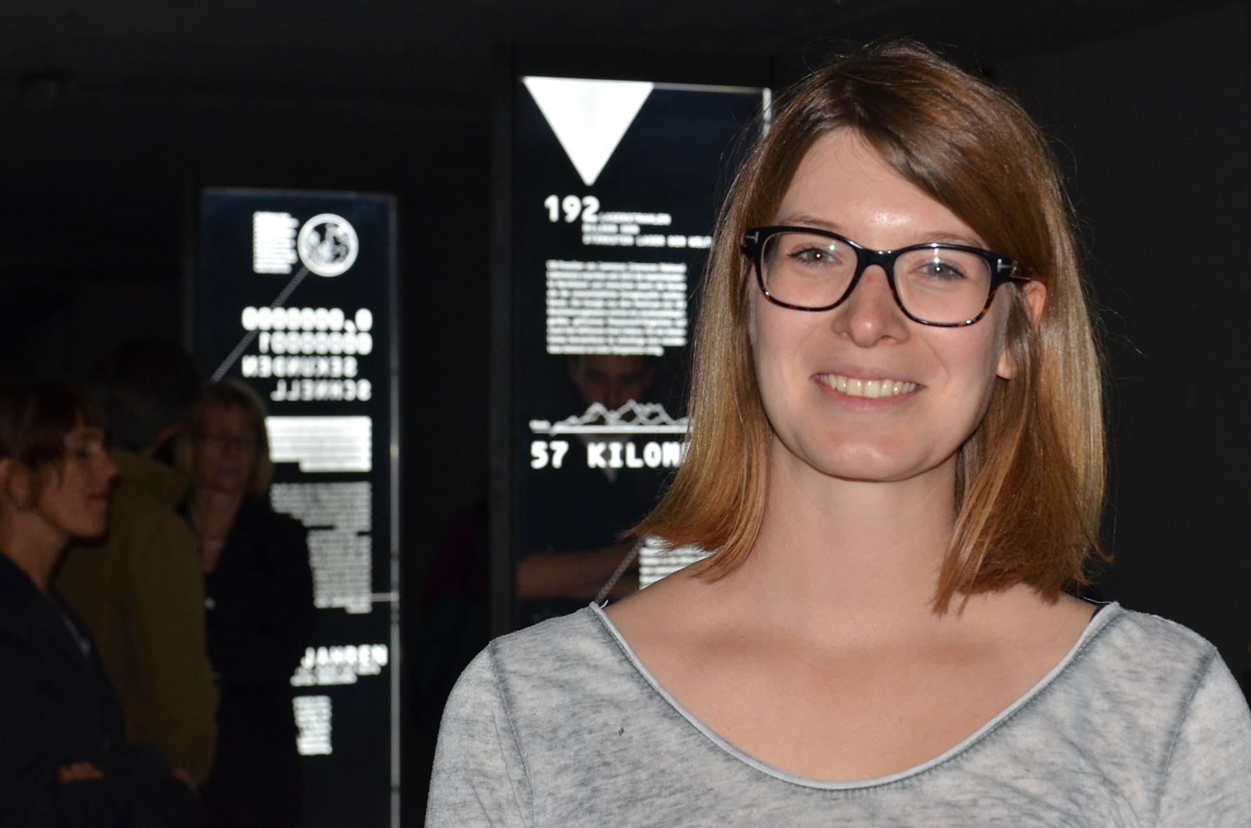 Katharina Uhrlau, Designstudentin der FH Münster