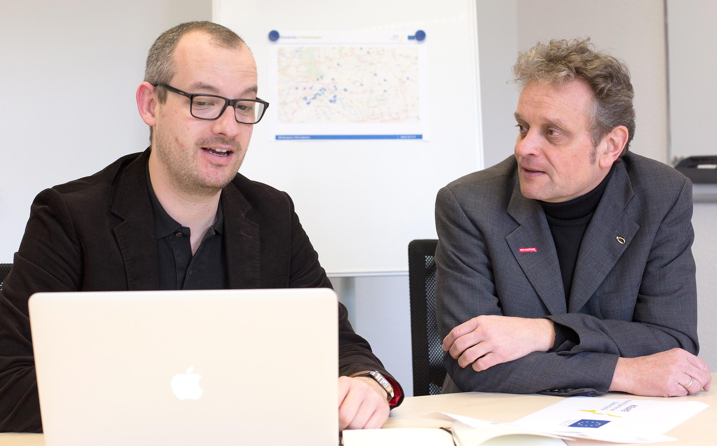 Rolf Laakmann und Dr. Frank Kühn-Gerhard