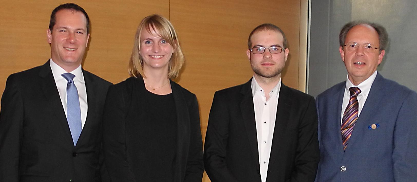 VDI Preisträger mit Vertretern des VDI