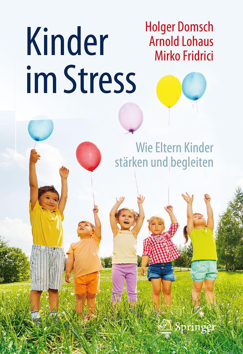 """Titelseite von """"Kinder im Stress"""""""