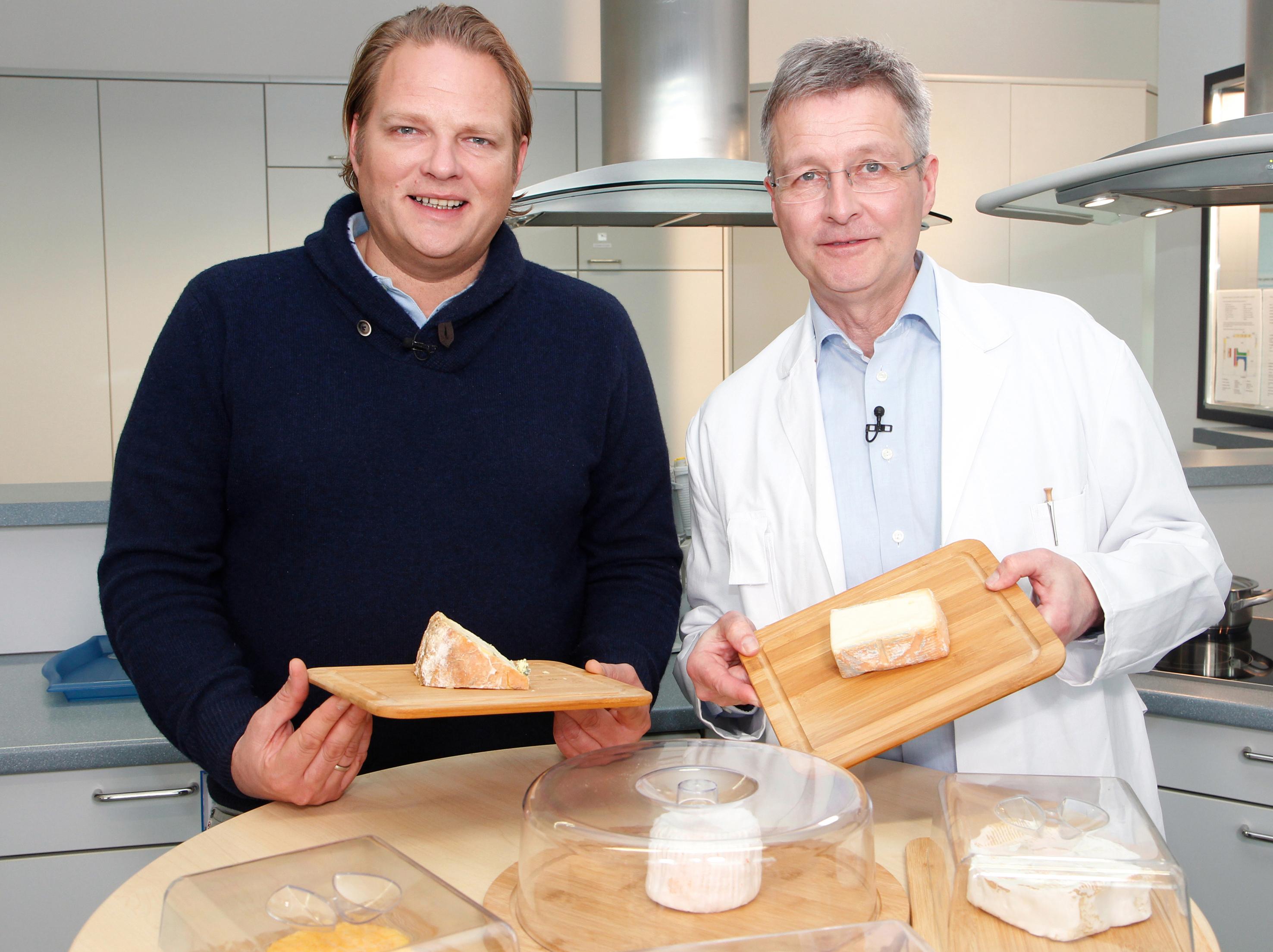 Prof. Dr. Guido Rittern und Fernsehkoch Björn Freitag