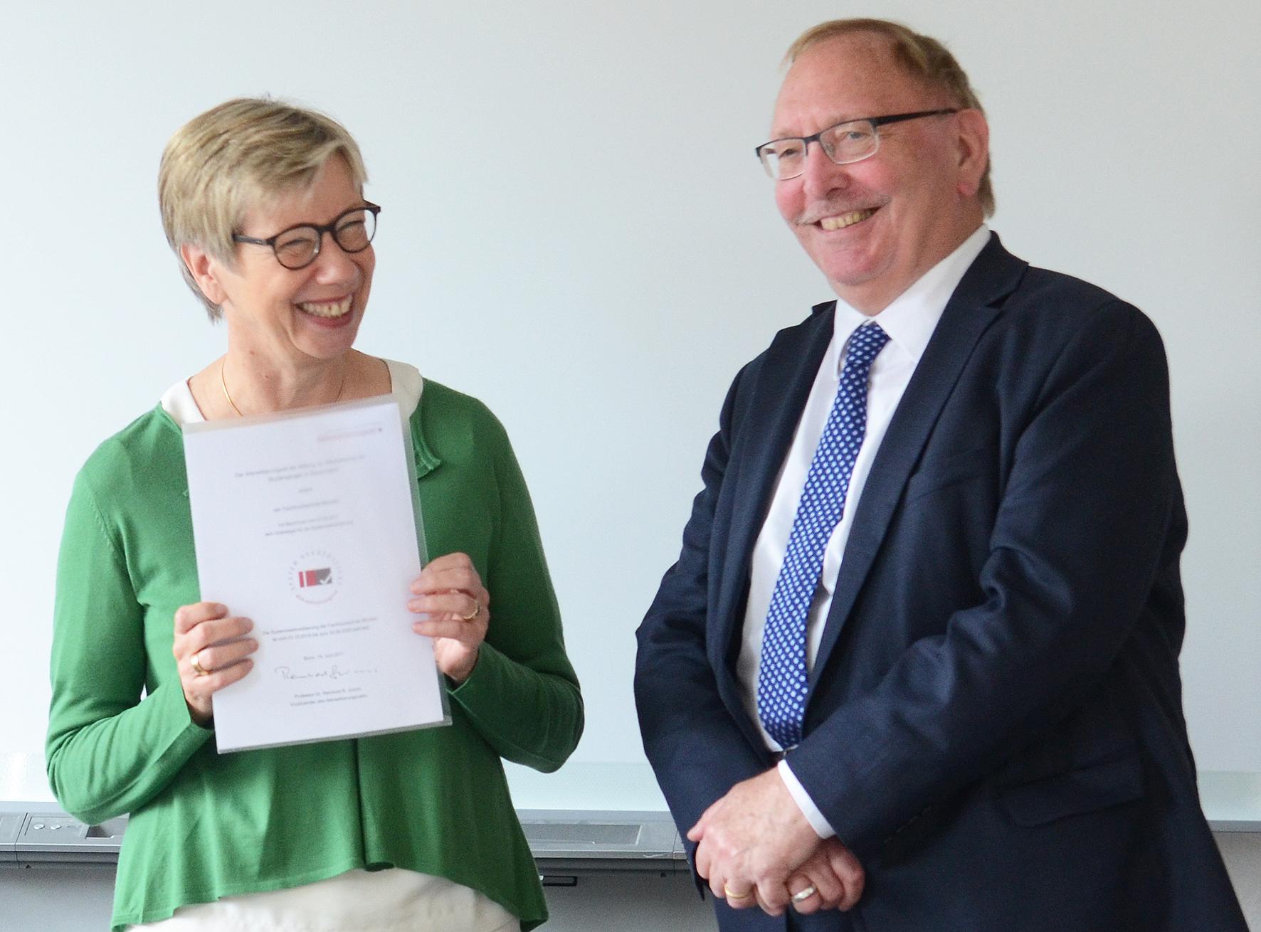 Prof. Dr. Ute von Lojewski, Prof. Dr. Reinhold Grimm