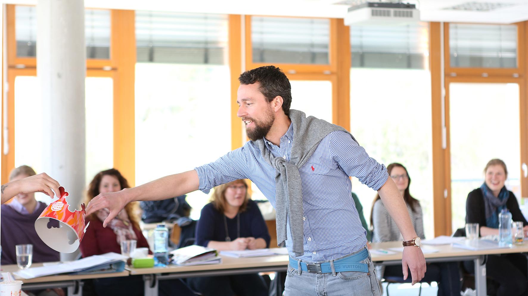Veranstaltung im weiterbildenden Masterstudiengang Beratung, Mediation, Coaching