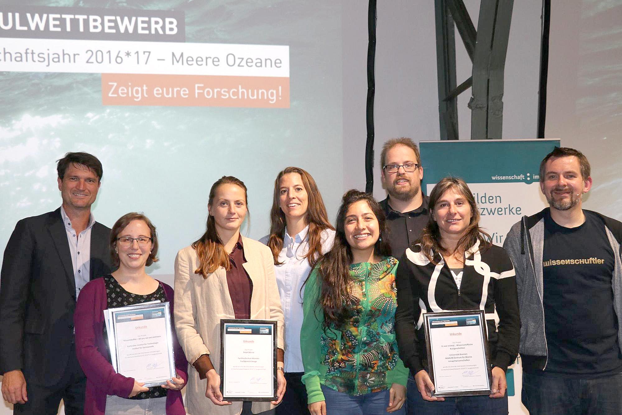 Auszeichnung in Berlin – die Preisträger