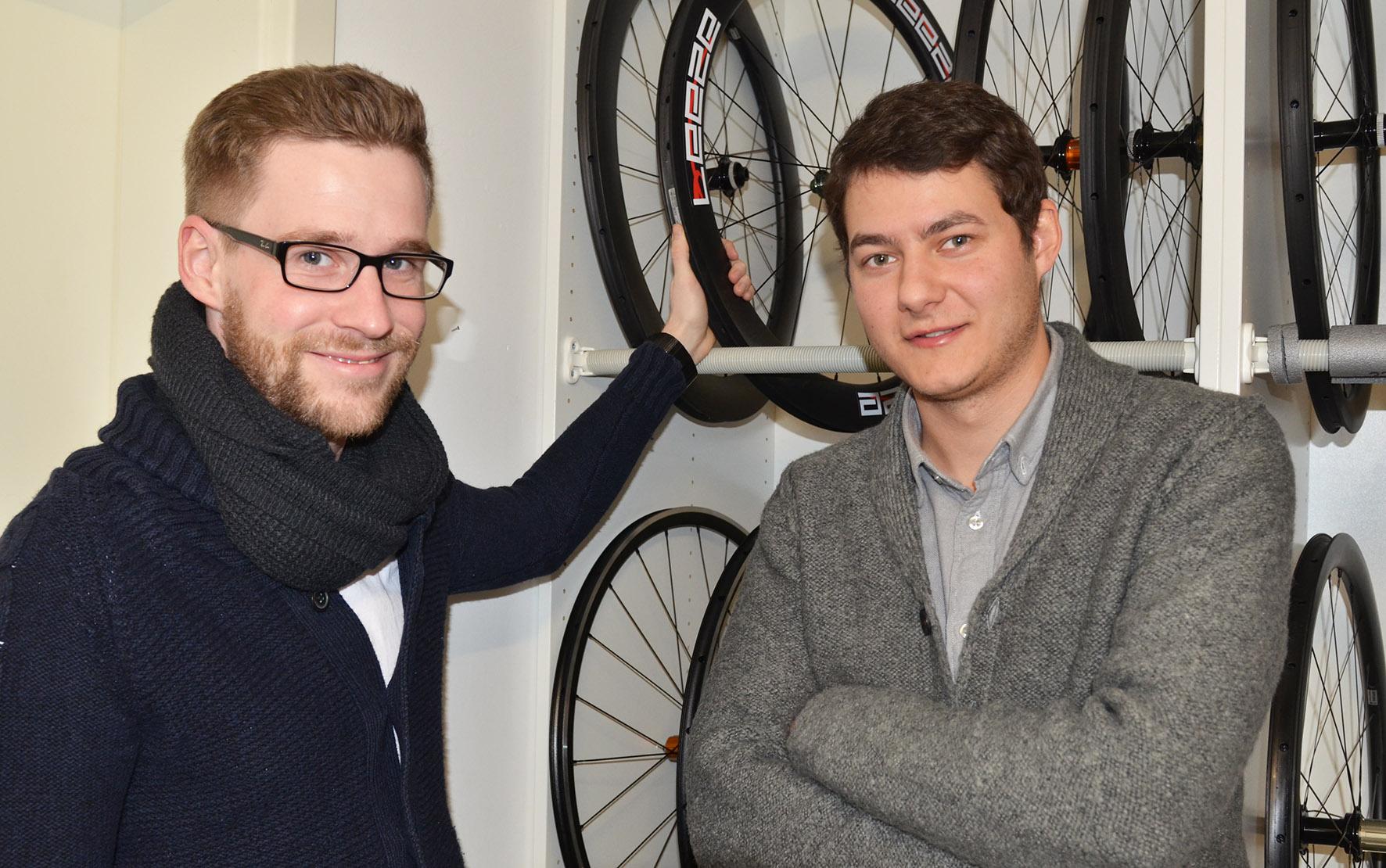 Frank Decker und Florian Otterpohl