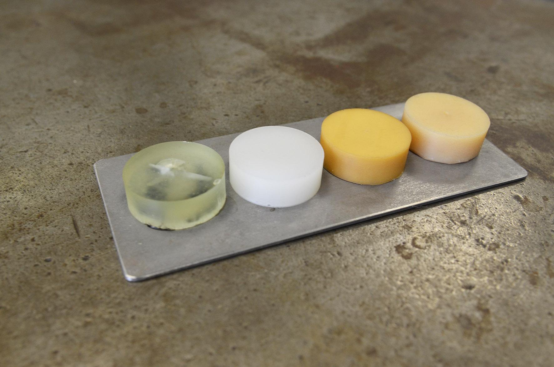 Verschiedene Polymere