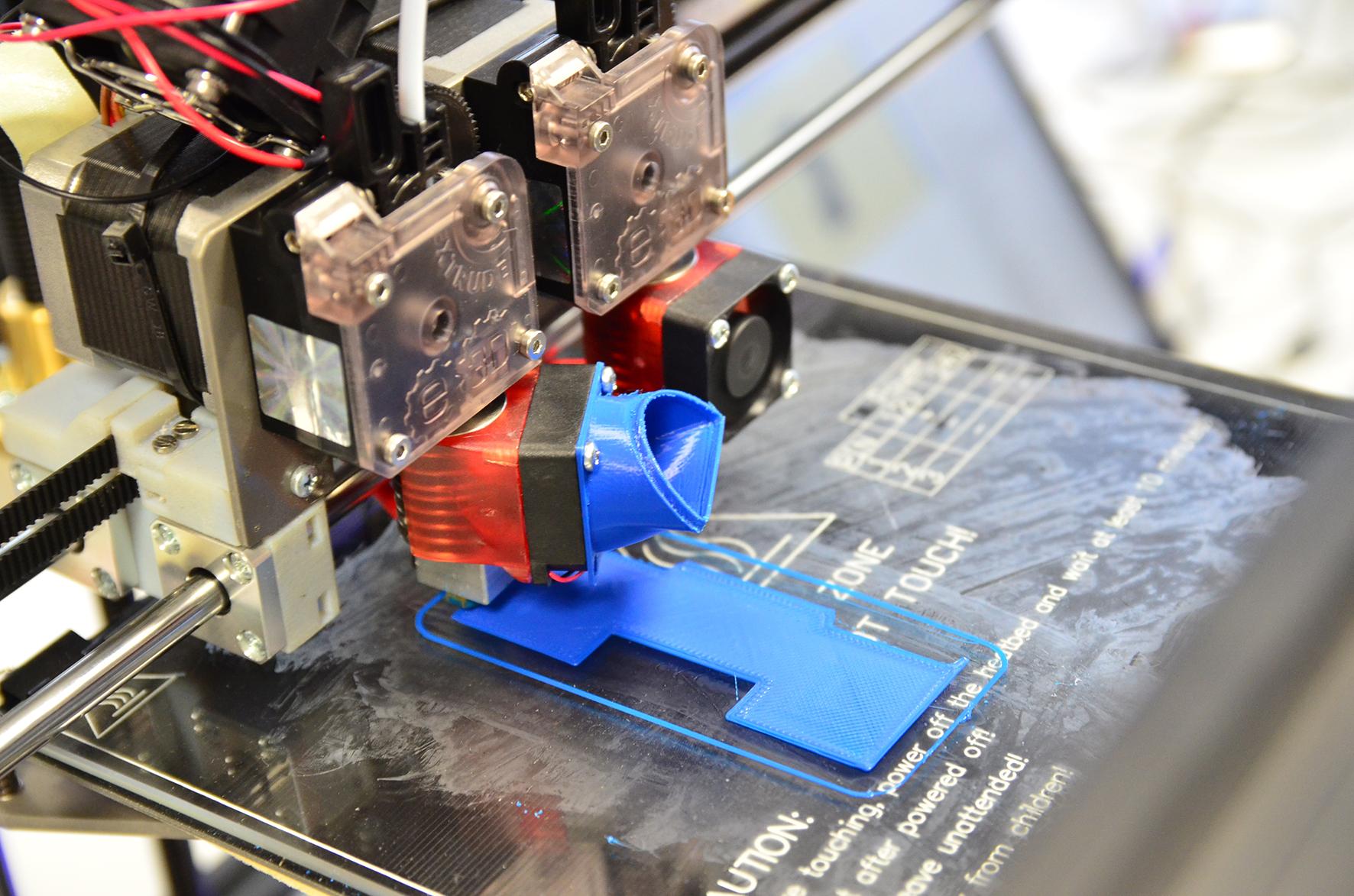 Nahaufnahme 3D-Drucker