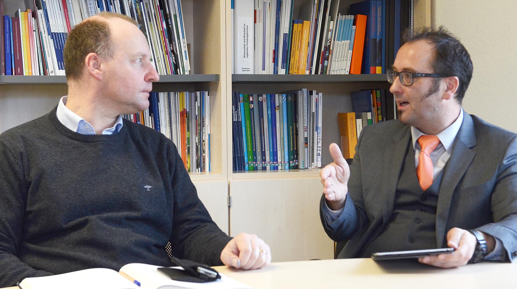 Prof. Dr. Thomas Jüstel und Dr. Martin Purschke