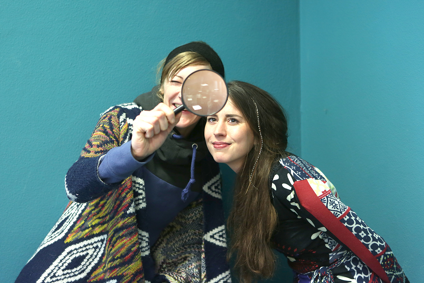 Elena Laudor und Nadine Zahn