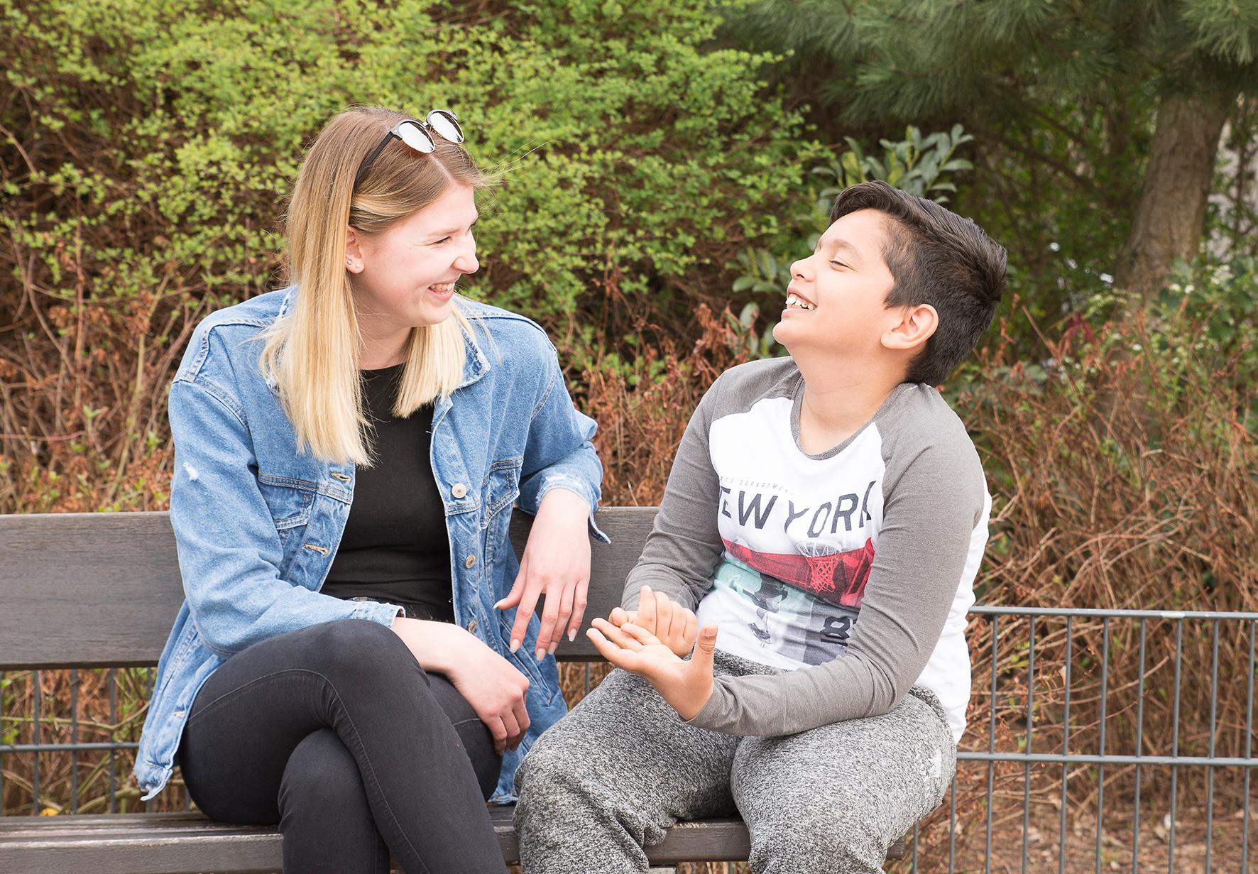 Carina Diekamp und Flavio