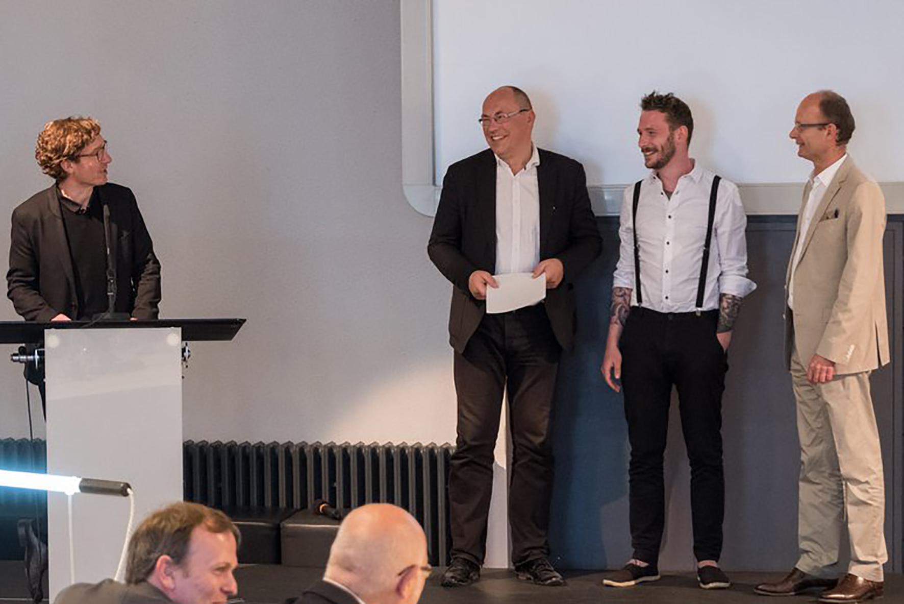Tobias Rabold beim BDA-SARP-Award 2018