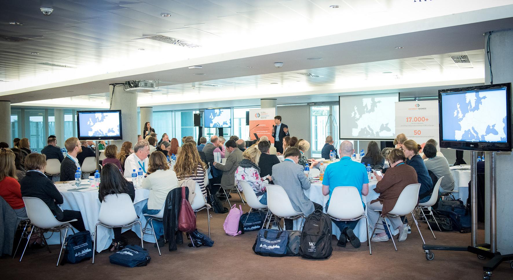 """Workshop zu den Ergebnissen des Projekts """"University-Business Cooperation in Europe"""""""