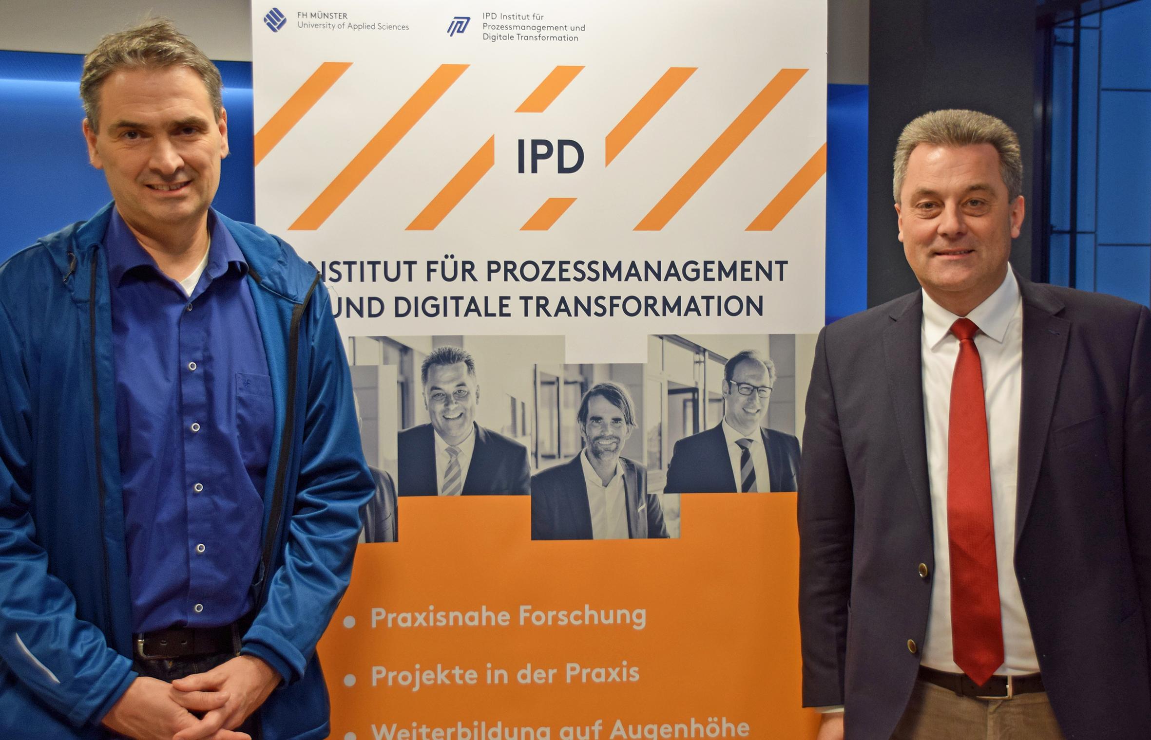 Dr. Ole Wintermann und Prof. Dr. Wieland Appelfeller