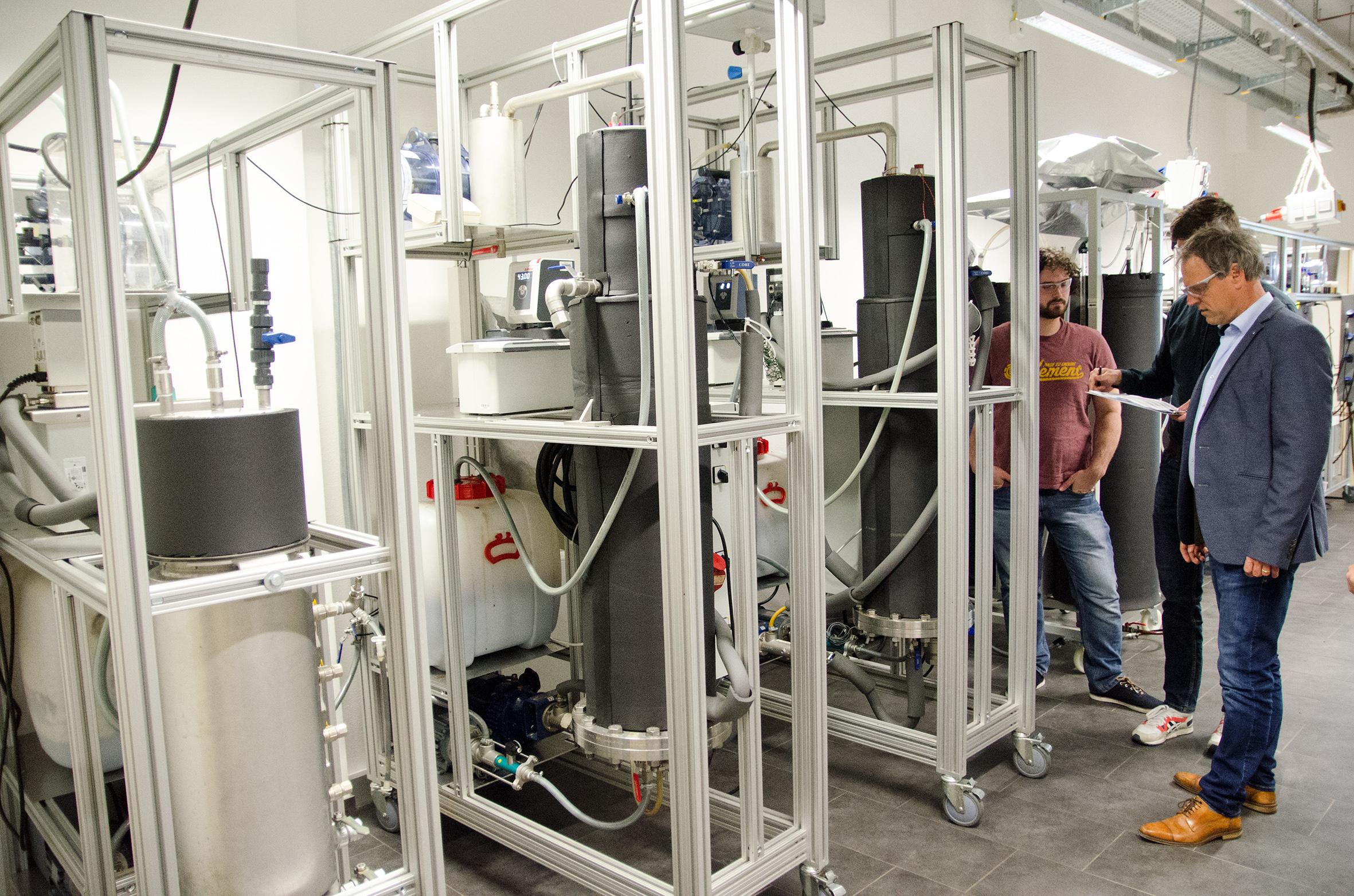 Reaktoren im Labor