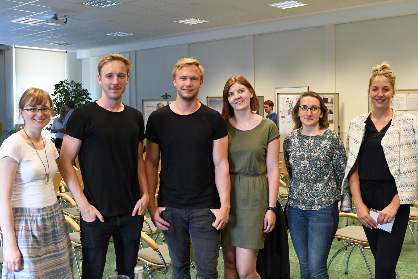 Architekturstudierende der FH Münster