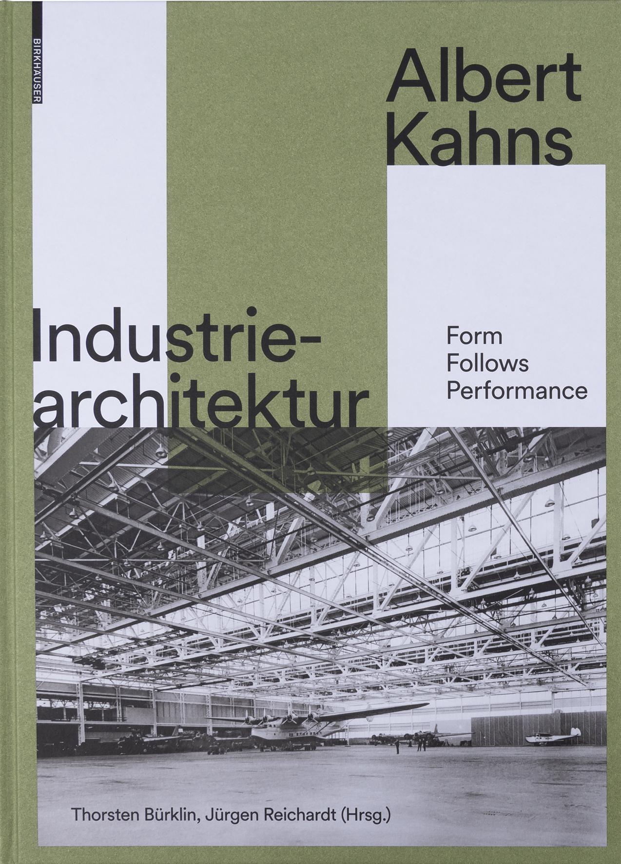 "Cover des Buchs: ""Albert Kahns Industriearchitektur"""