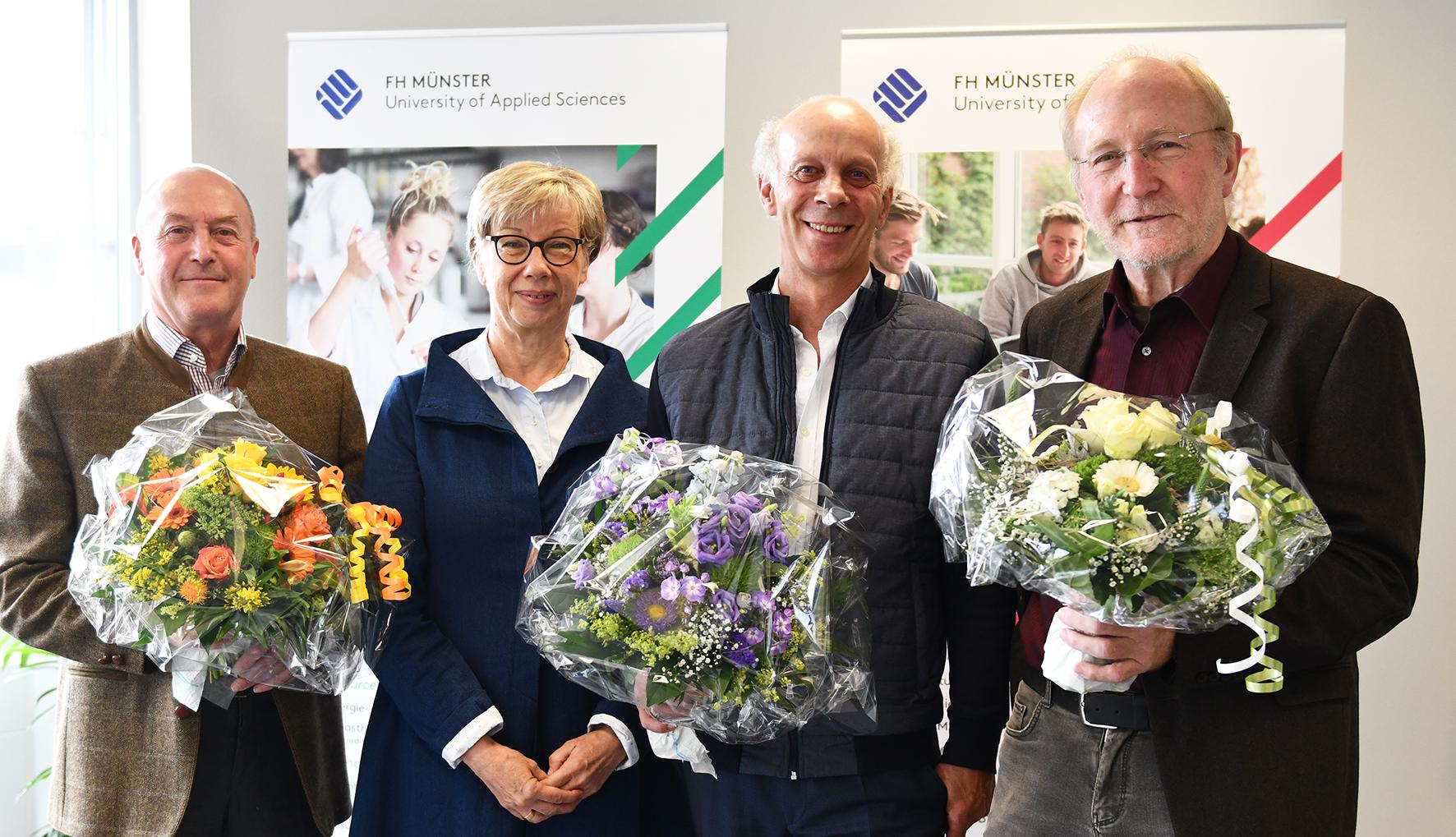 Präsidentin mit Mani, Dickmann, Schone