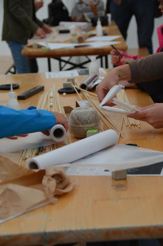 Workshop der Architekturstudierenden