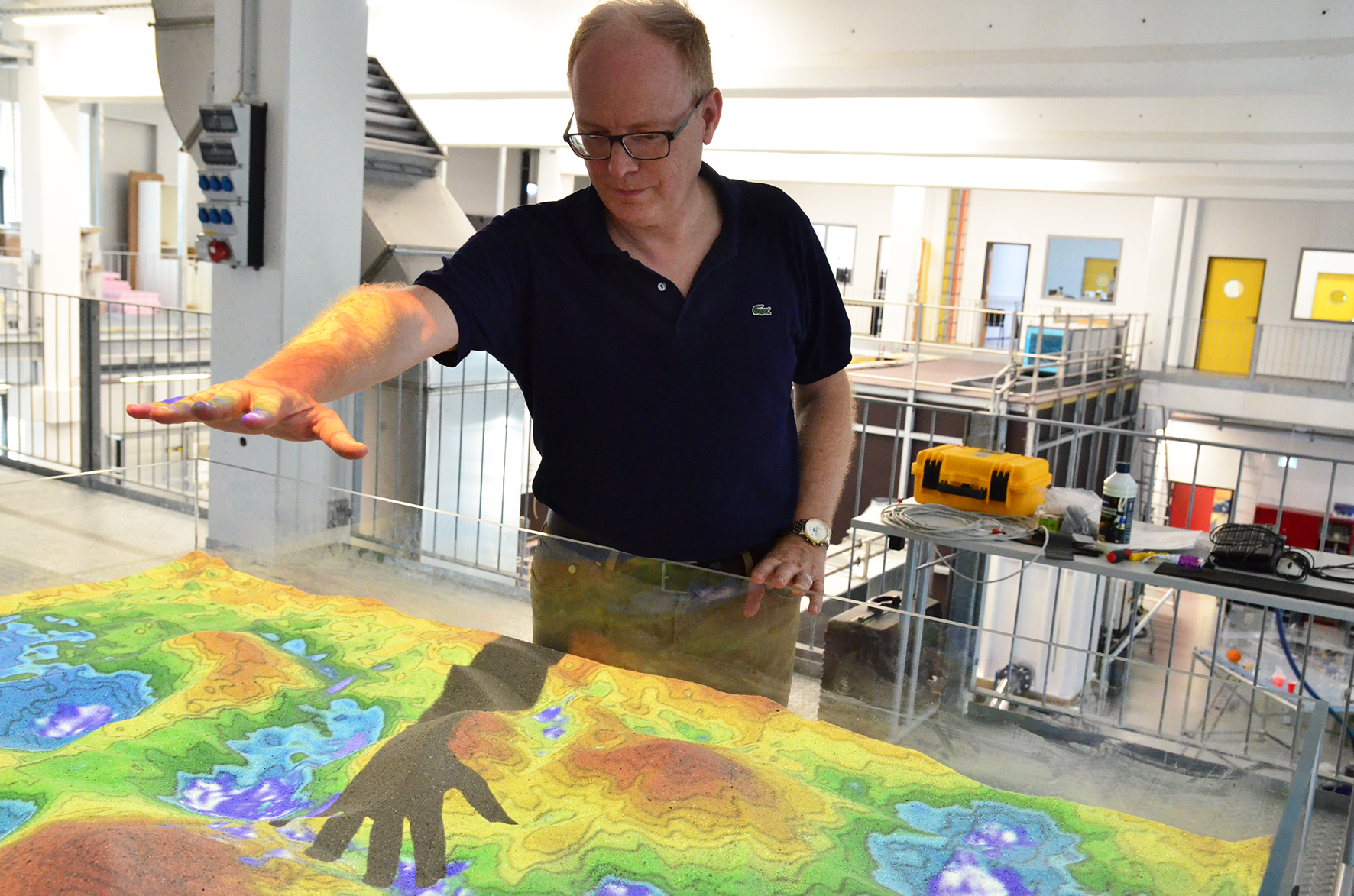 Augmented Reality Sand Box
