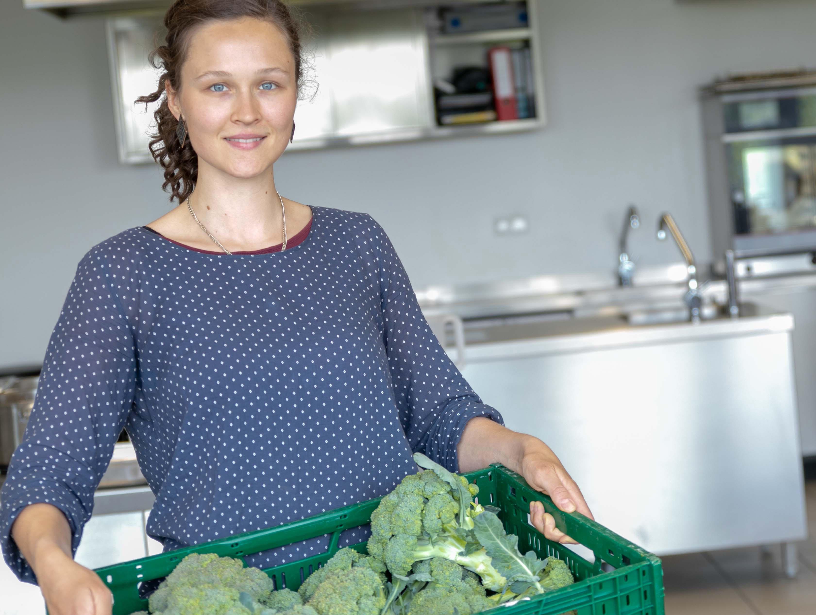 Lea Radtke engagiert sich gegen die Verschwendung von Lebensmitteln. Die Studentin der FH Münster steht kurz vor ihrem Abschluss in Oecotrophologie.