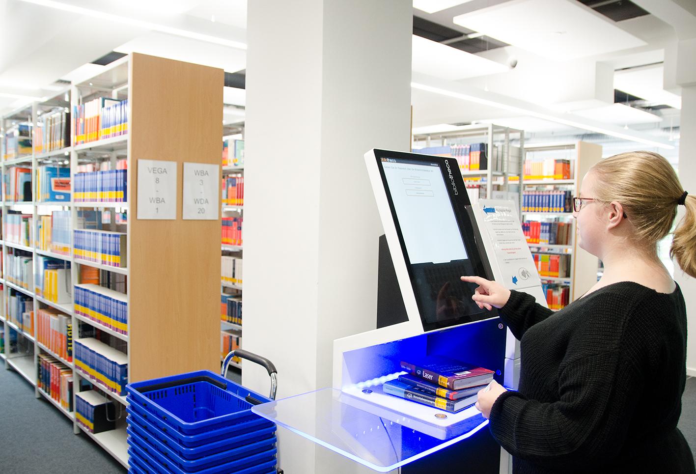 Neue Bibliothek, Ausleihautomat