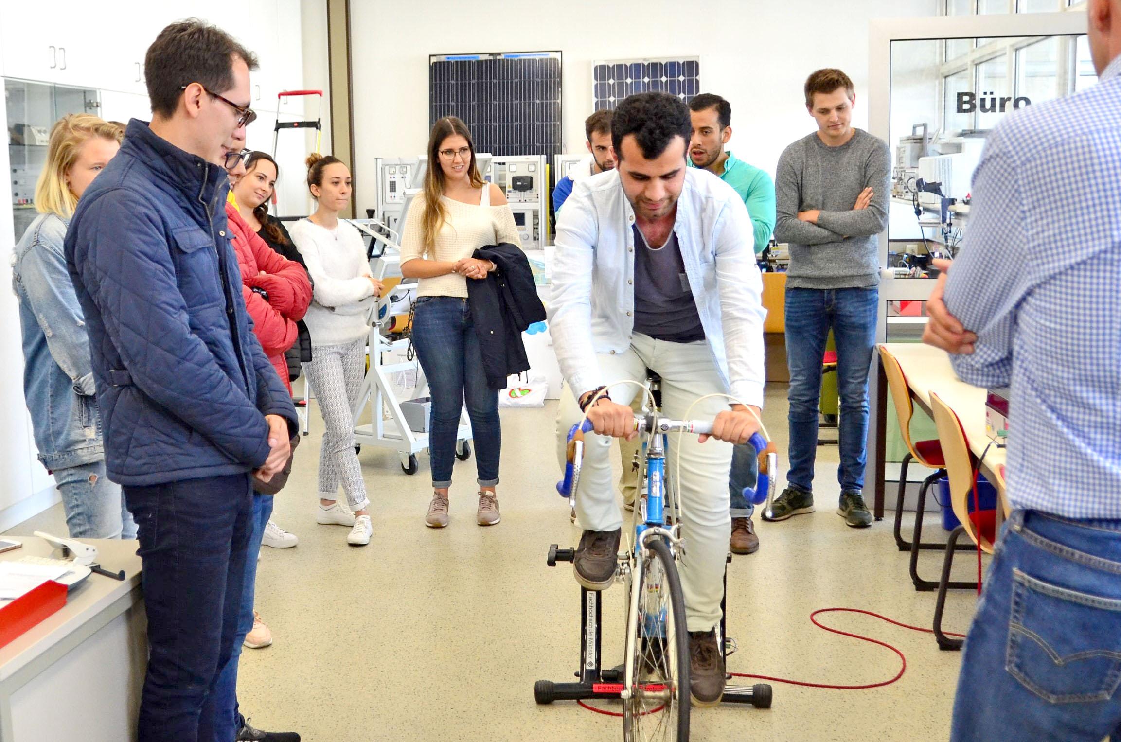 Summer School Fahrrad