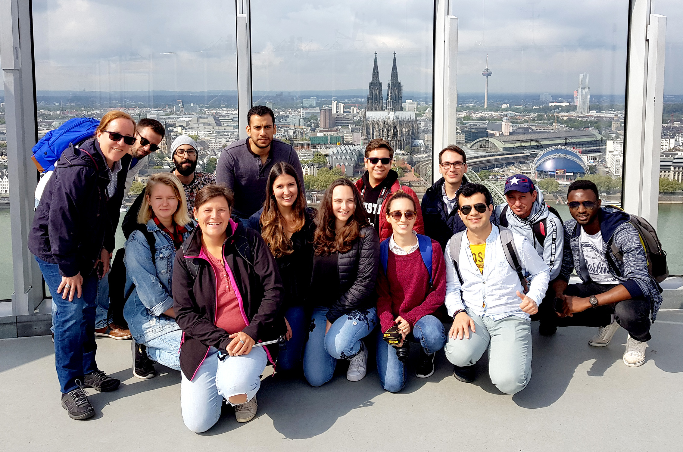 Summer School Gruppe in Köln