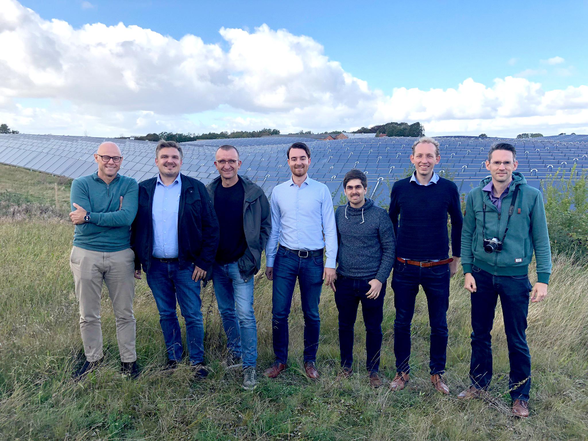 Gruppenfoto in Dänemark