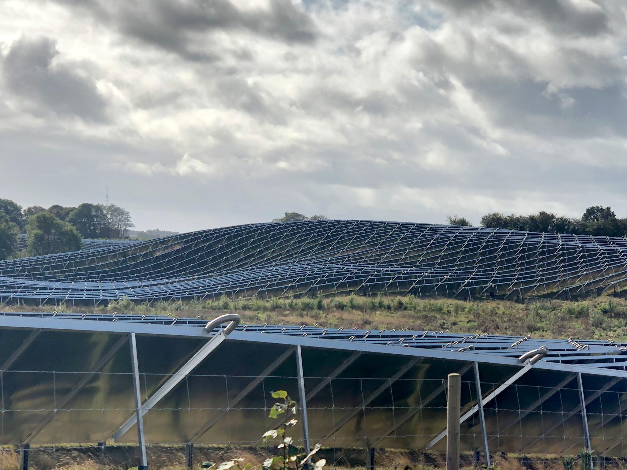 Das größte Solarfeld Europas
