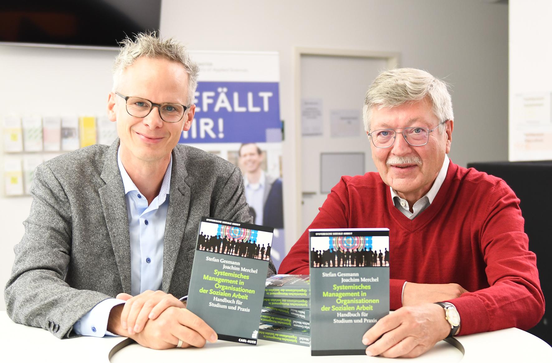 Prof. Dr. Stefan Gesmann und Prof. Dr. Joachim Merchel