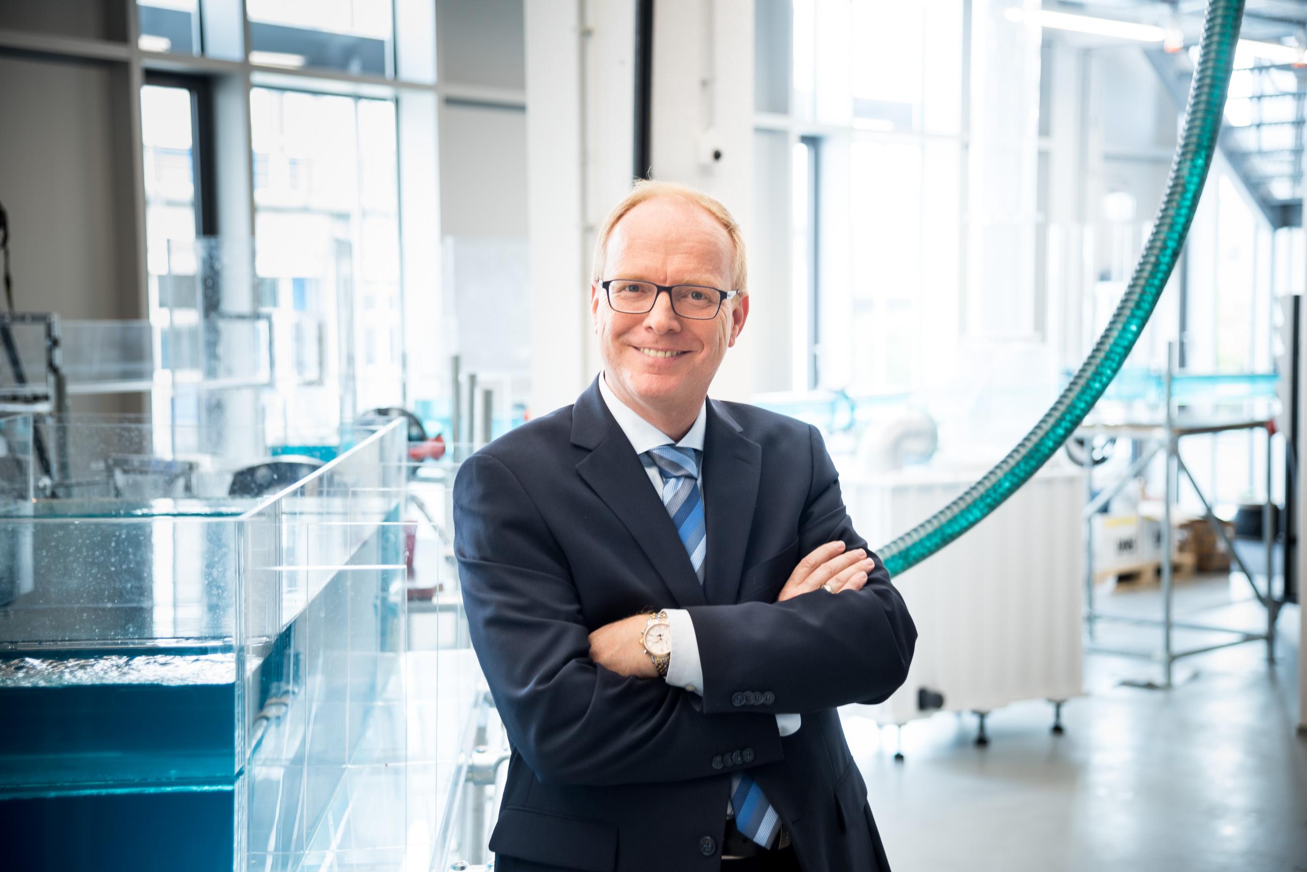 Professor des Jahres Prof. Dr. Helmut Grüning