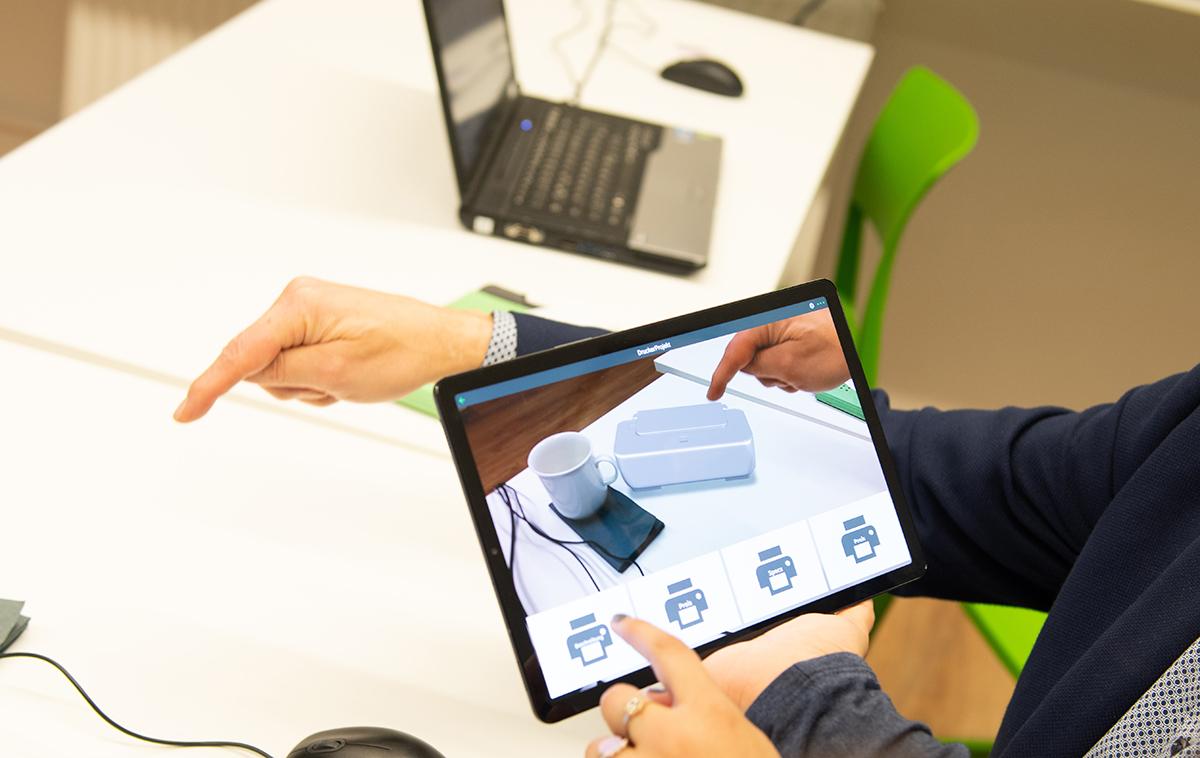 Drucker virtuell in 3-D
