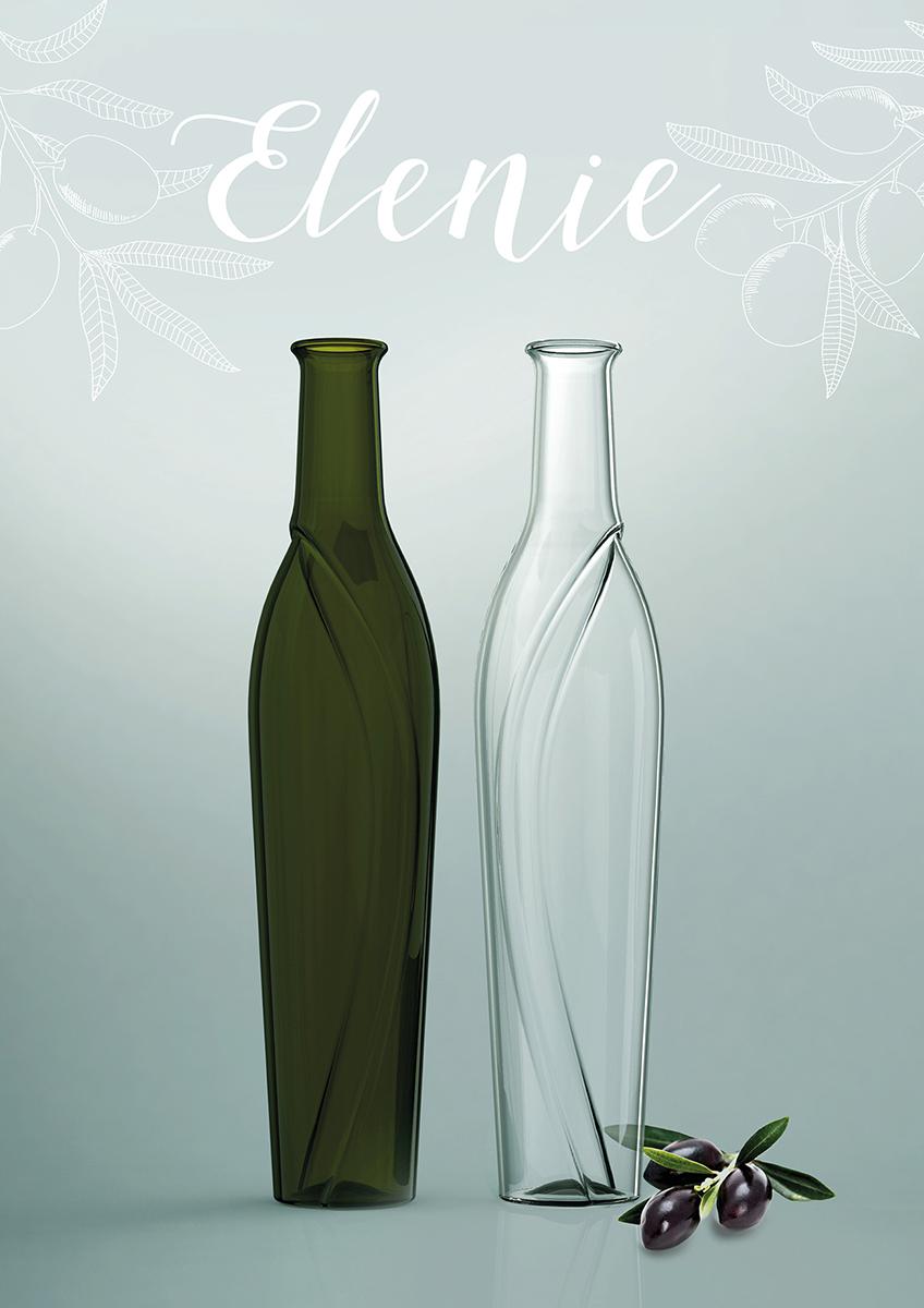 Ölflasche Elenie von Katharina Seizew